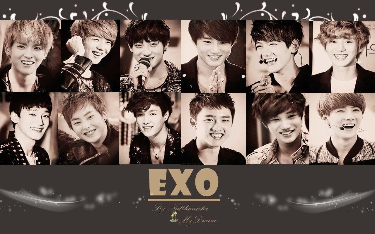 Wallpaper For Laptop Exo
