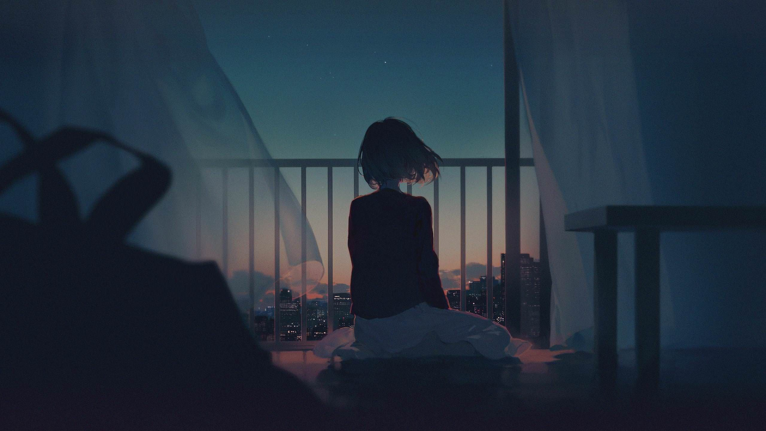 Alone Anime Girl Wallpapers - Top Free Alone Anime Girl