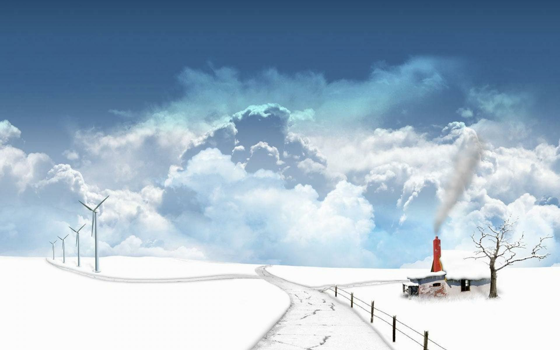 Snow Scenery Anime Wallpapers Top Free Snow Scenery Anime Backgrounds Wallpaperaccess