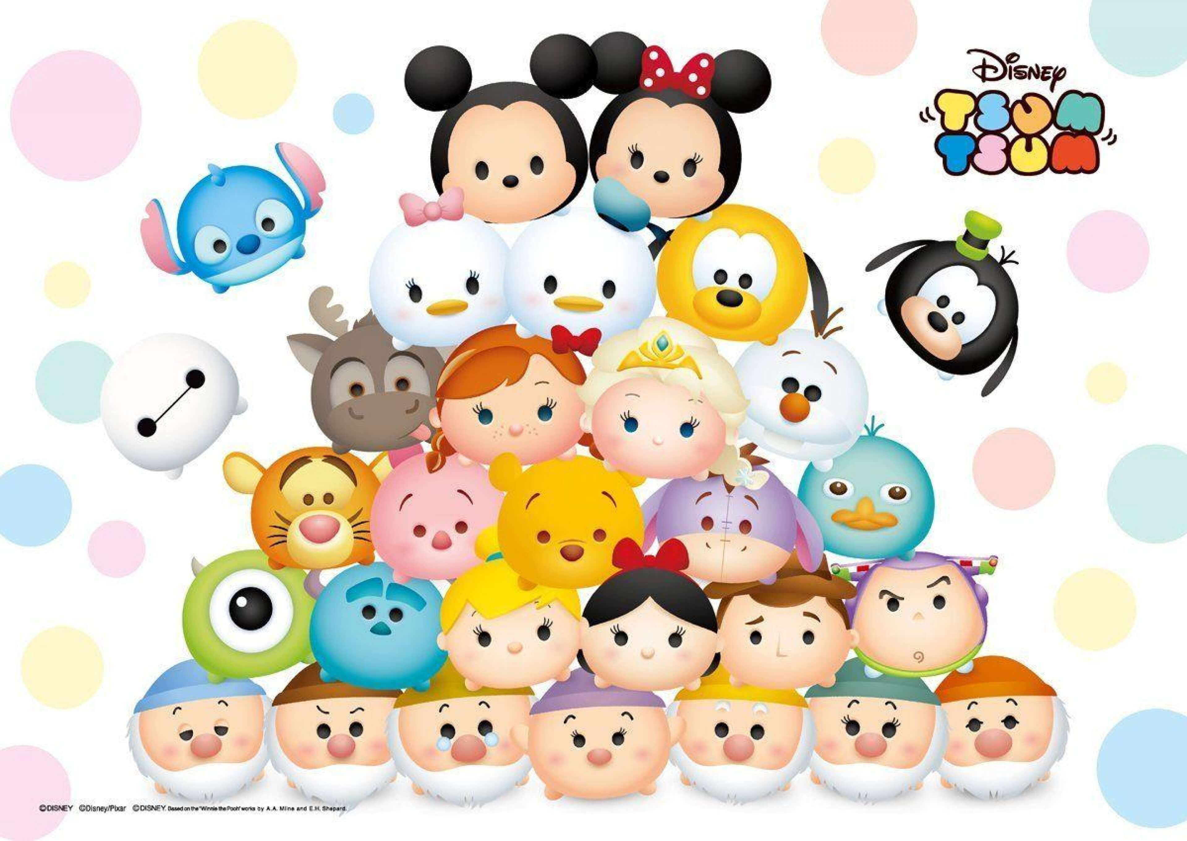 Disney Tsum Tsum Wallpapers - Top Free
