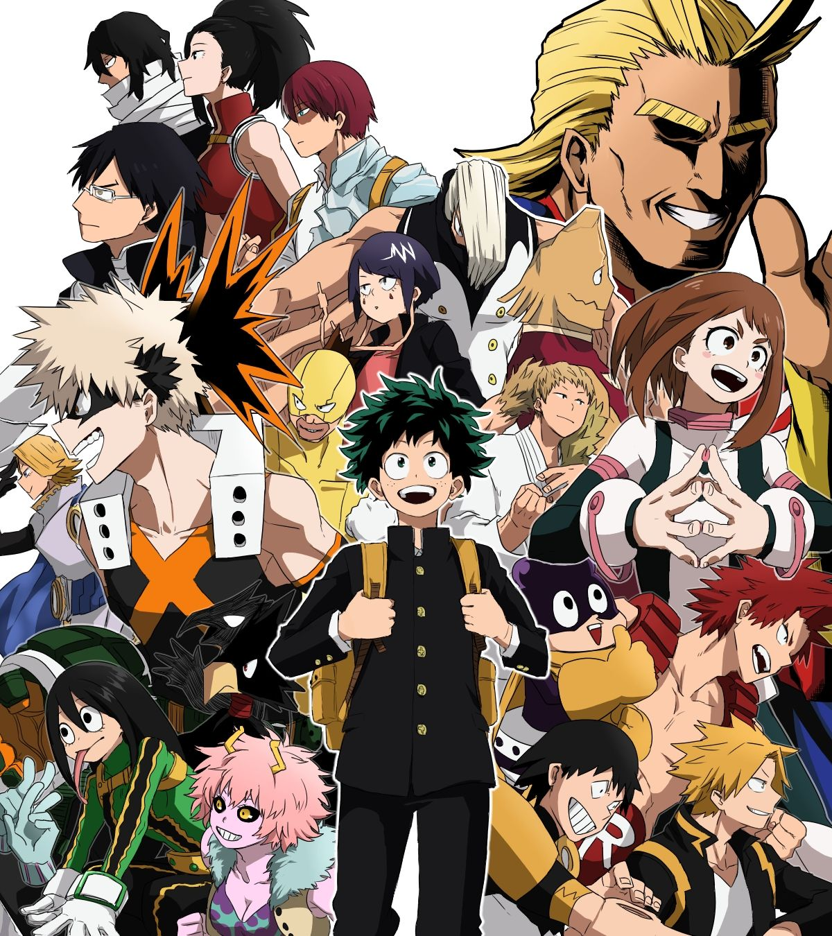 My Hero Academia HD Wallpapers - Top Free My Hero Academia HD Backgrounds - WallpaperAccess