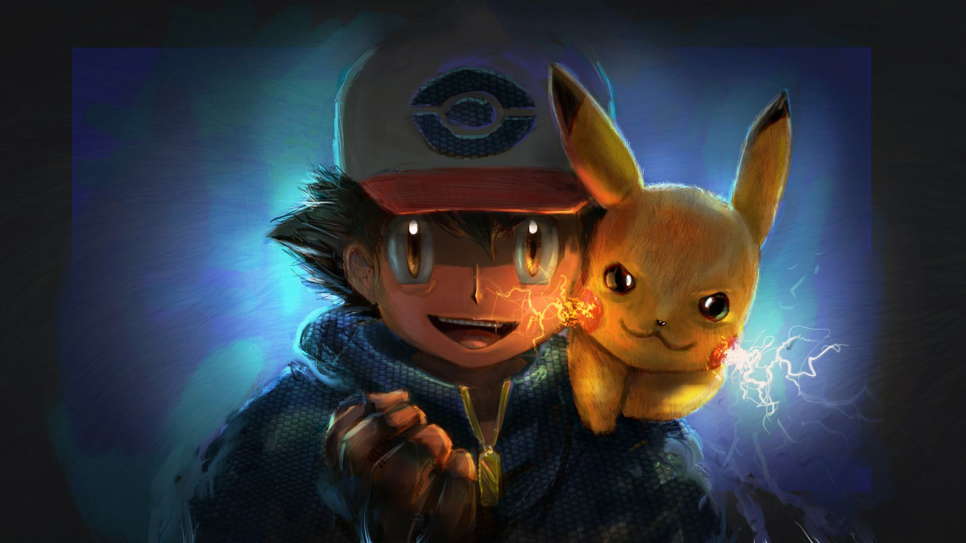 Ash And Pikachu Hd Wallpapers Top Free Ash And Pikachu Hd Backgrounds Wallpaperaccess