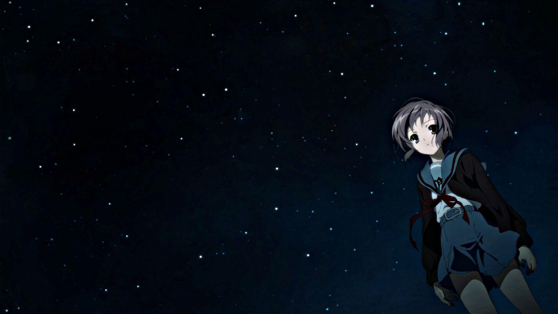 Anime Night Sky Wallpapers