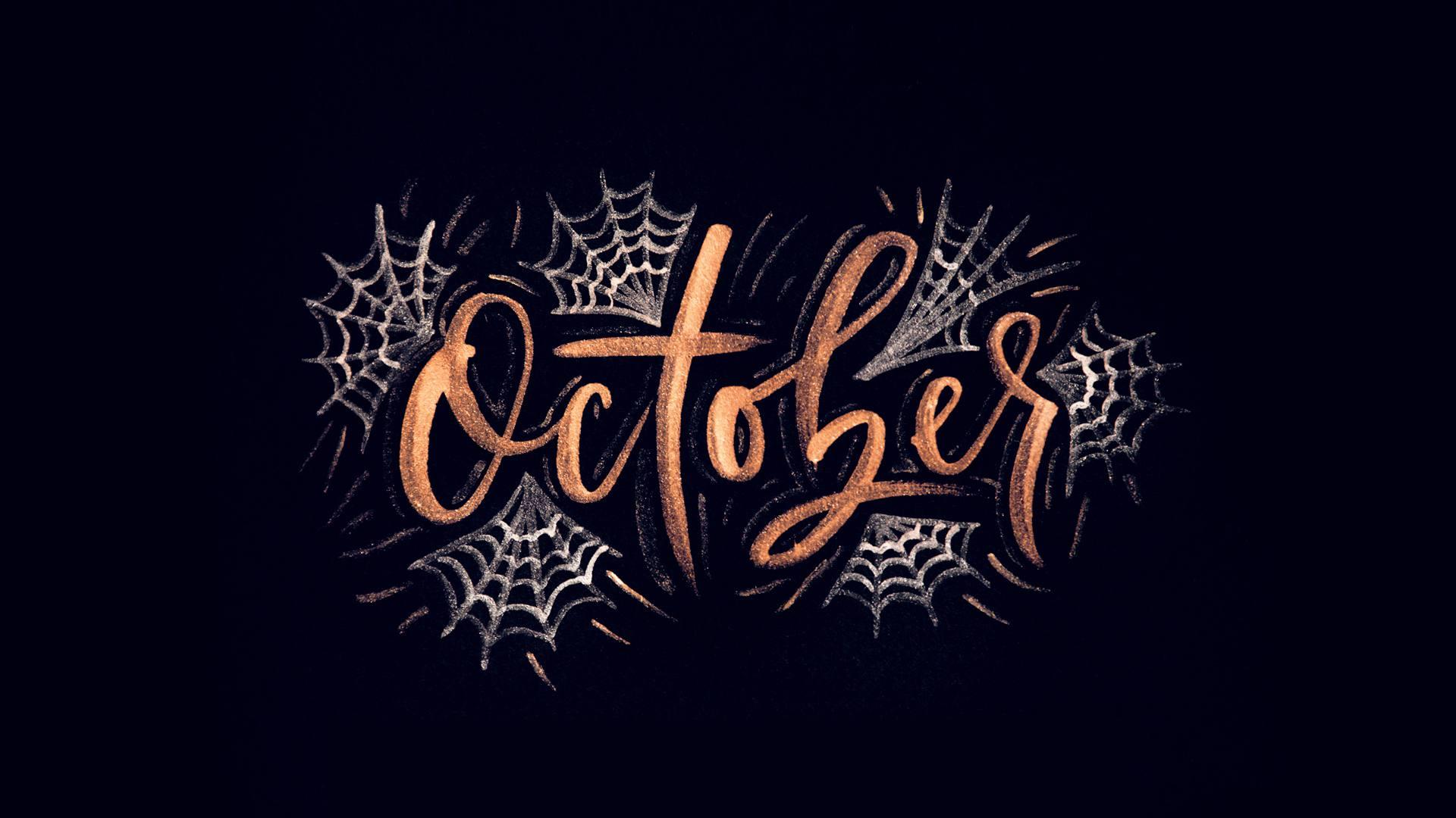 Desktop Aesthetic Halloween Wallpapers Top Free Desktop Aesthetic Halloween Backgrounds Wallpaperaccess