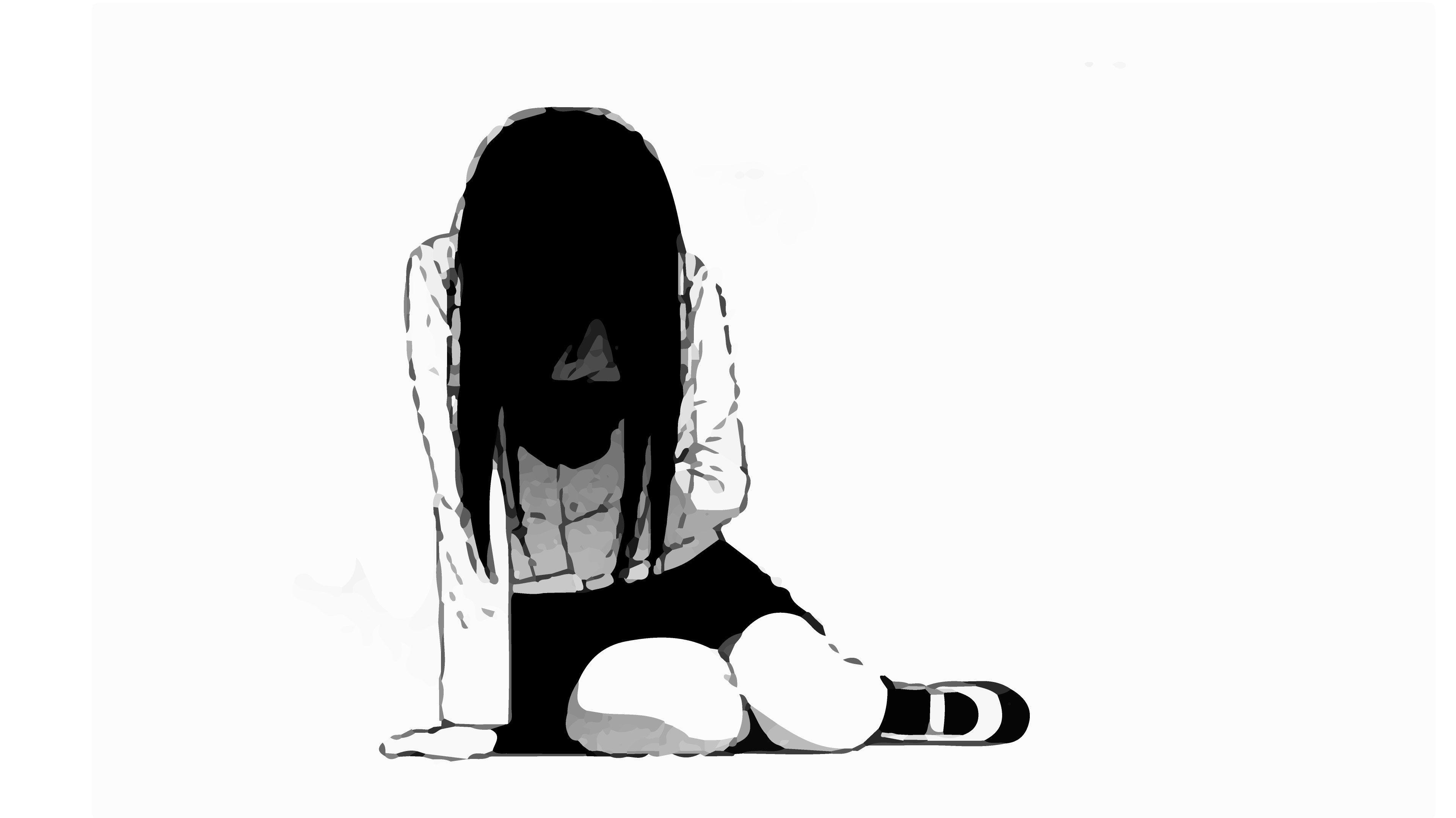 Alone sad anime wallpapers top free alone sad anime
