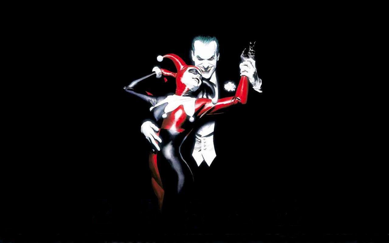 Joker And Harley Quinn Desktop Wallpapers Top Free Joker And