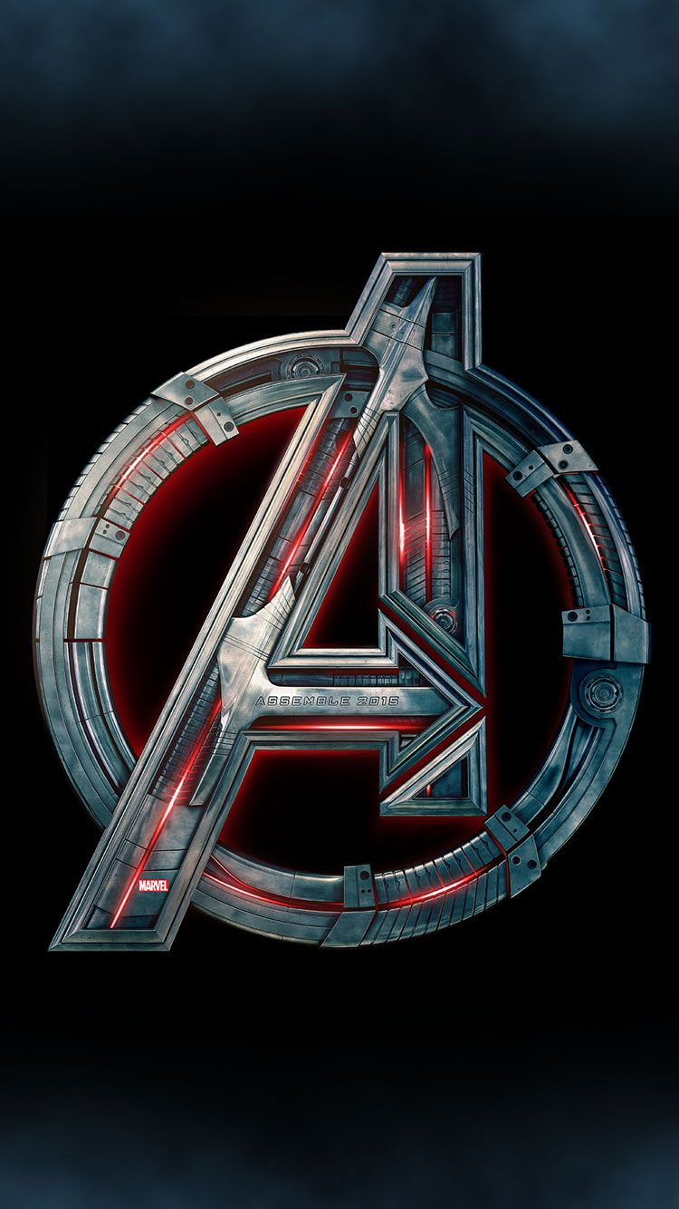Avengers Logo Iphone Wallpapers Top Free Avengers Logo Iphone Backgrounds Wallpaperaccess