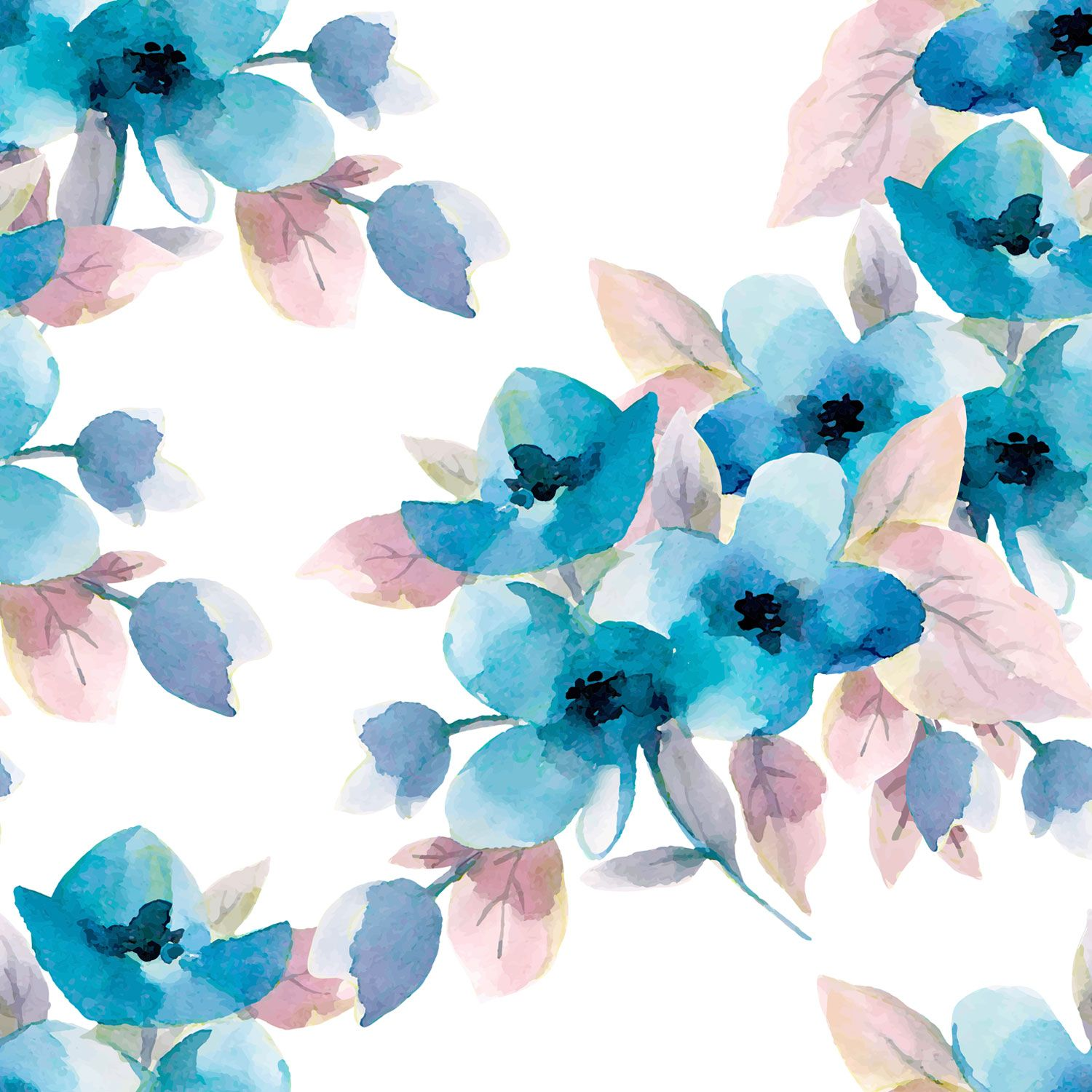 Pastel Blue Flowers Wallpapers Top Free Pastel Blue Flowers