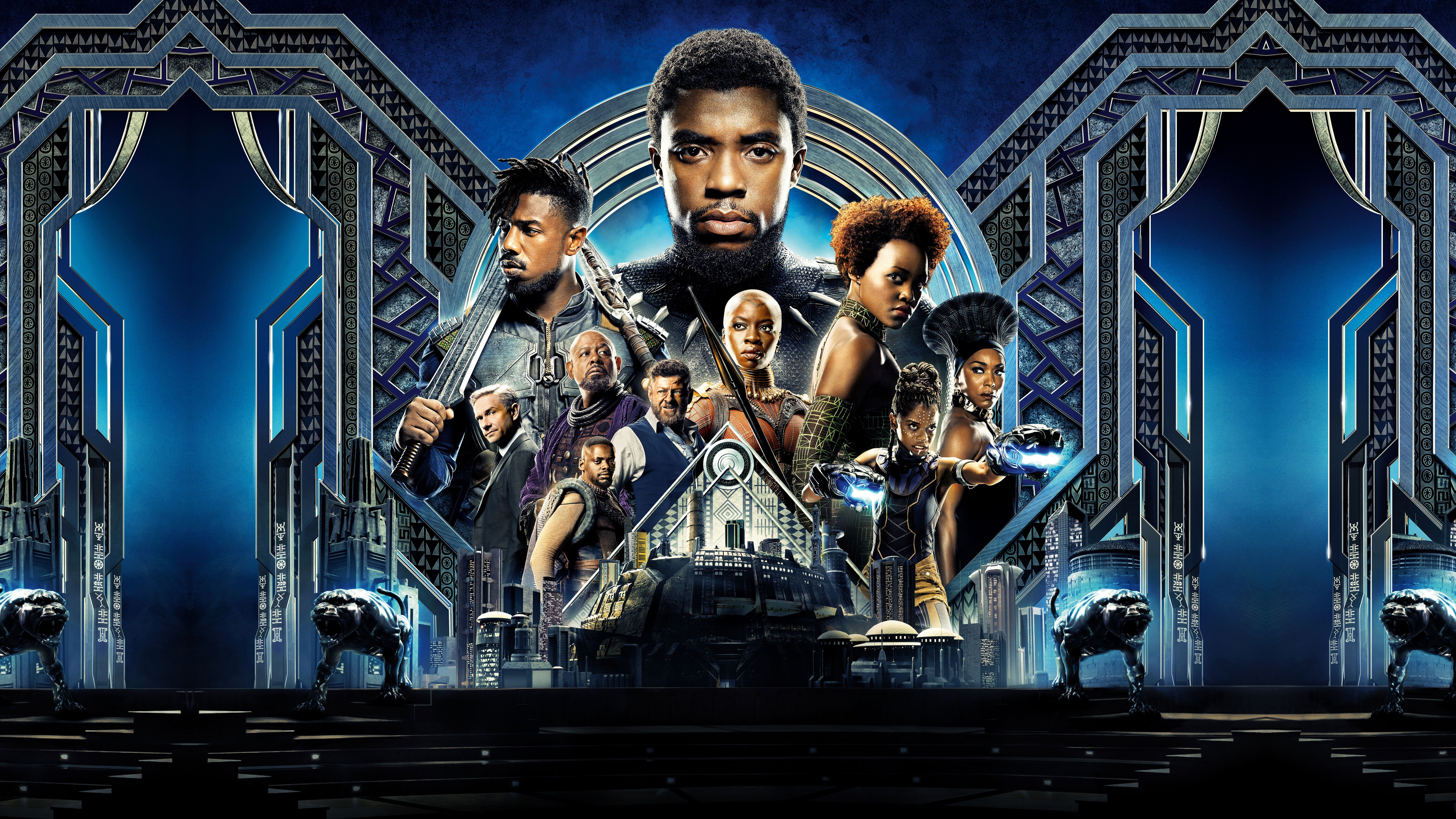 Black Panther Marvel Movie Wallpapers Top Free Black Panther Marvel Movie Backgrounds Wallpaperaccess
