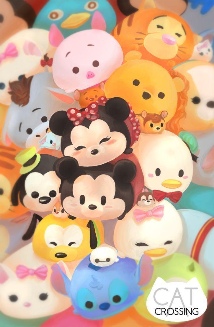 Tsum Tsum Iphone Wallpapers Top Free Tsum Tsum Iphone