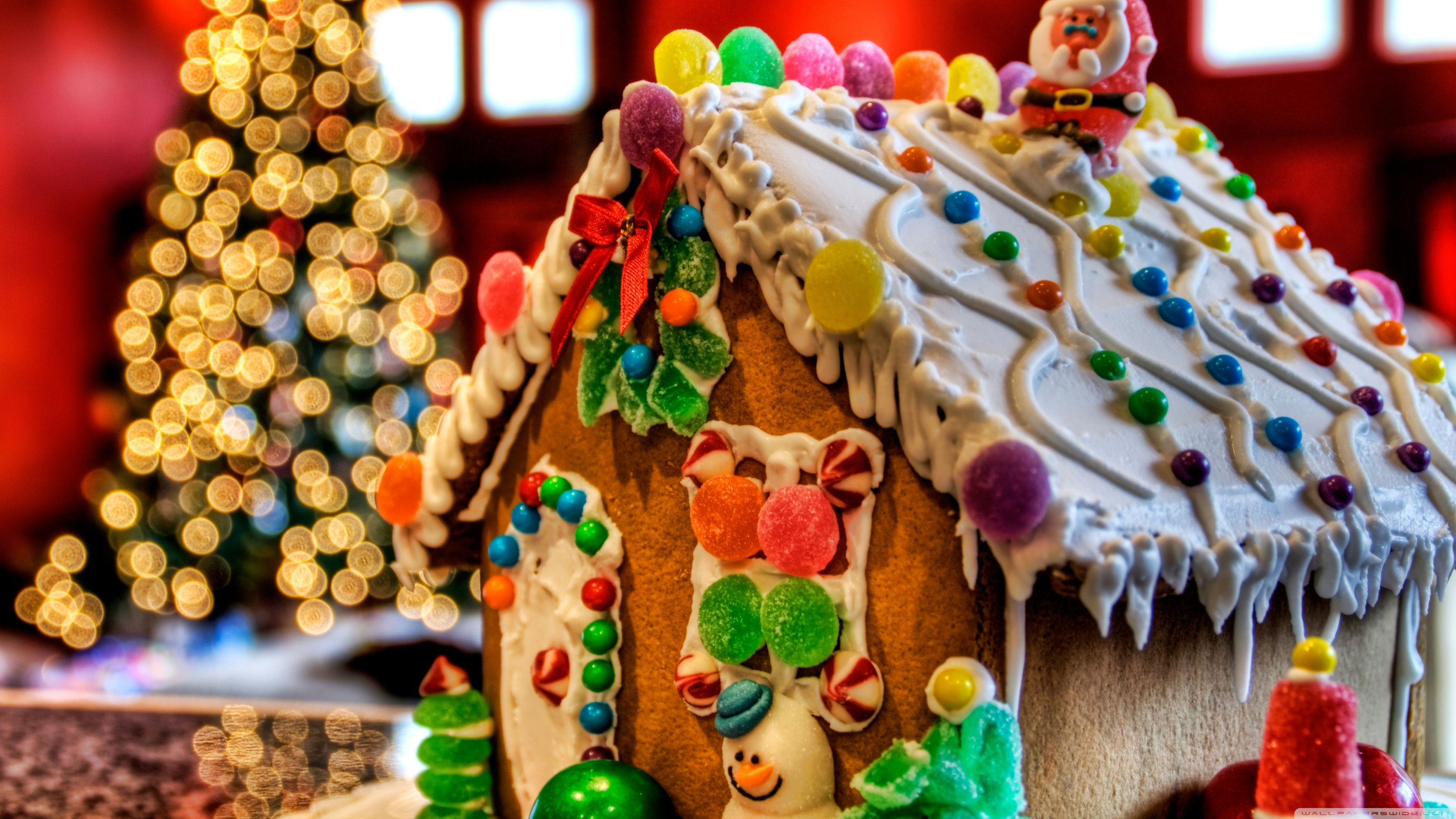 Christmas Gingerbread Wallpapers - Top ...