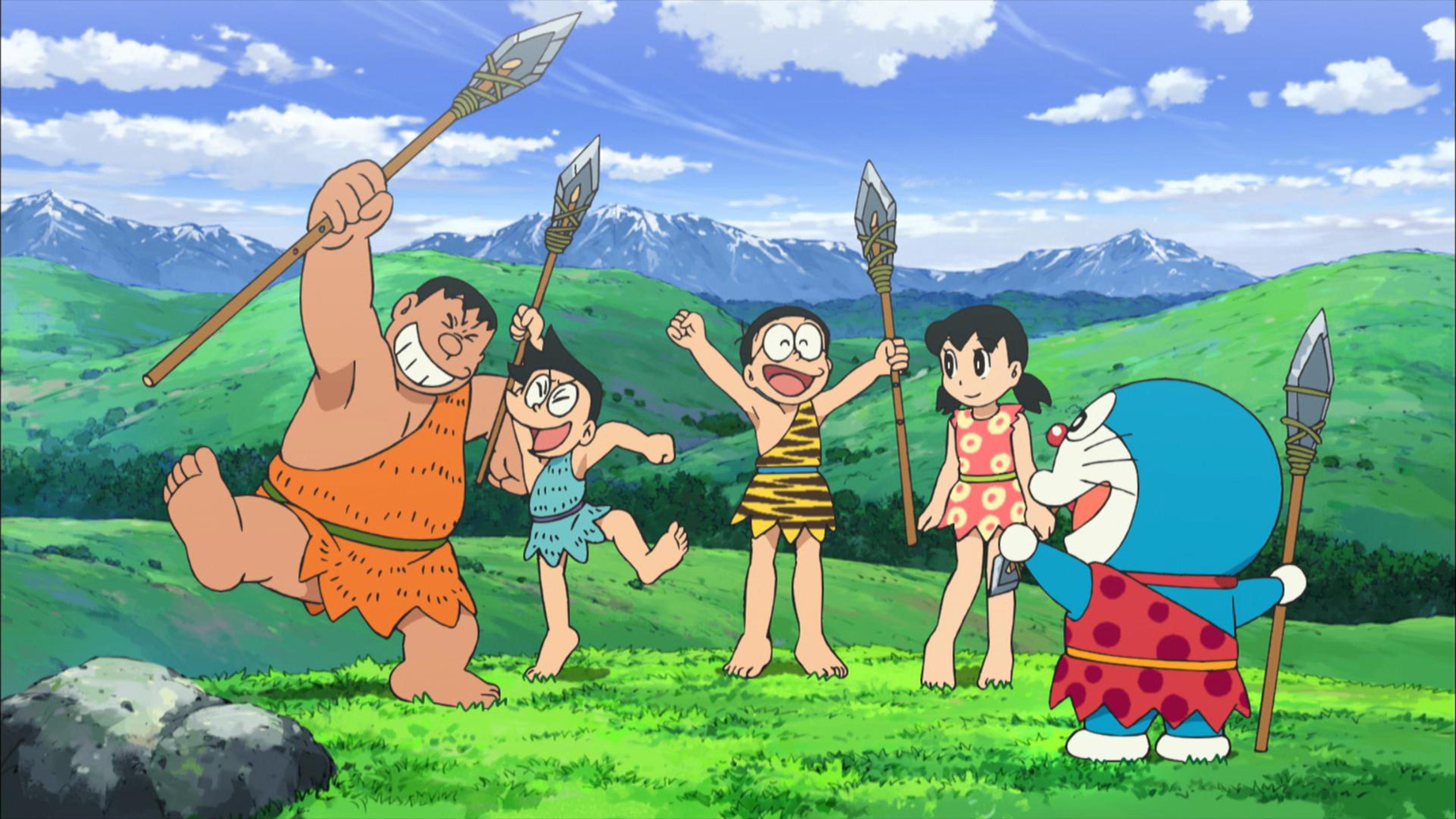 Wallpaper Doraemon Movie - Bakaninime
