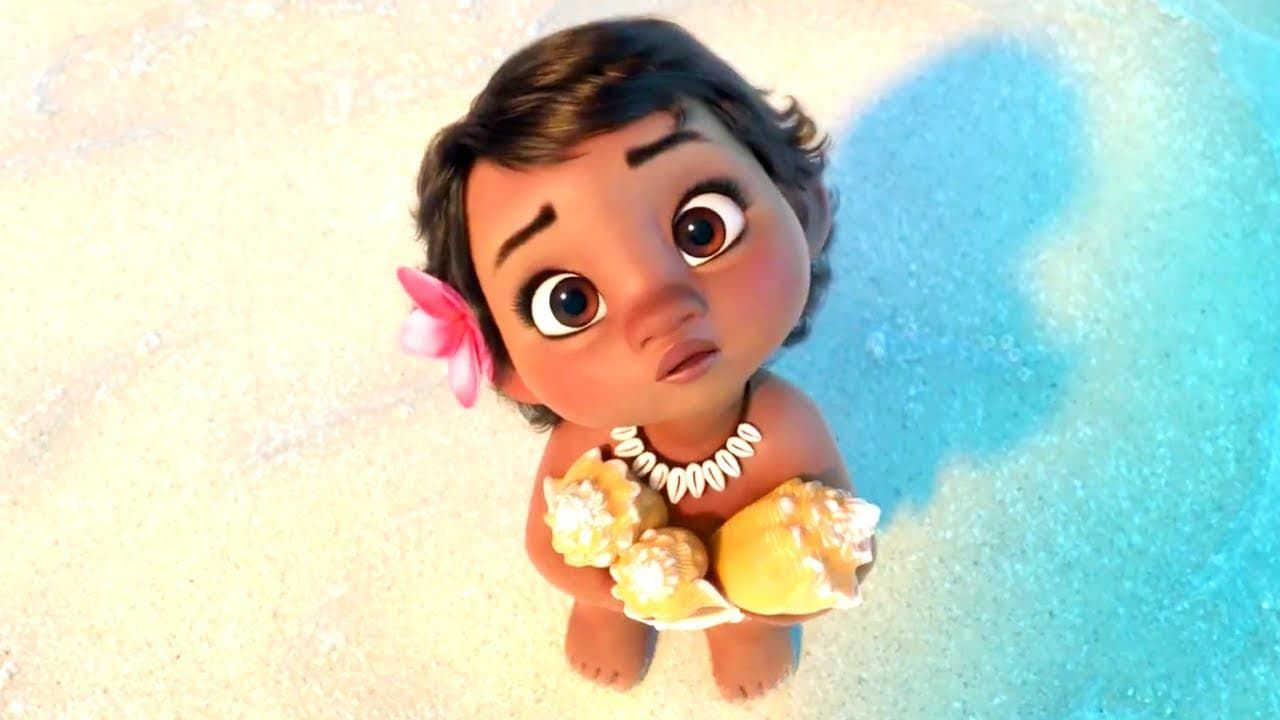 Cute Baby Moana Wallpapers - Top Free