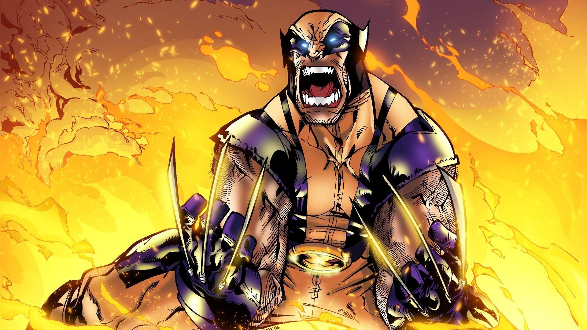 Wolverine Cartoon Wallpapers Top Free Wolverine Cartoon