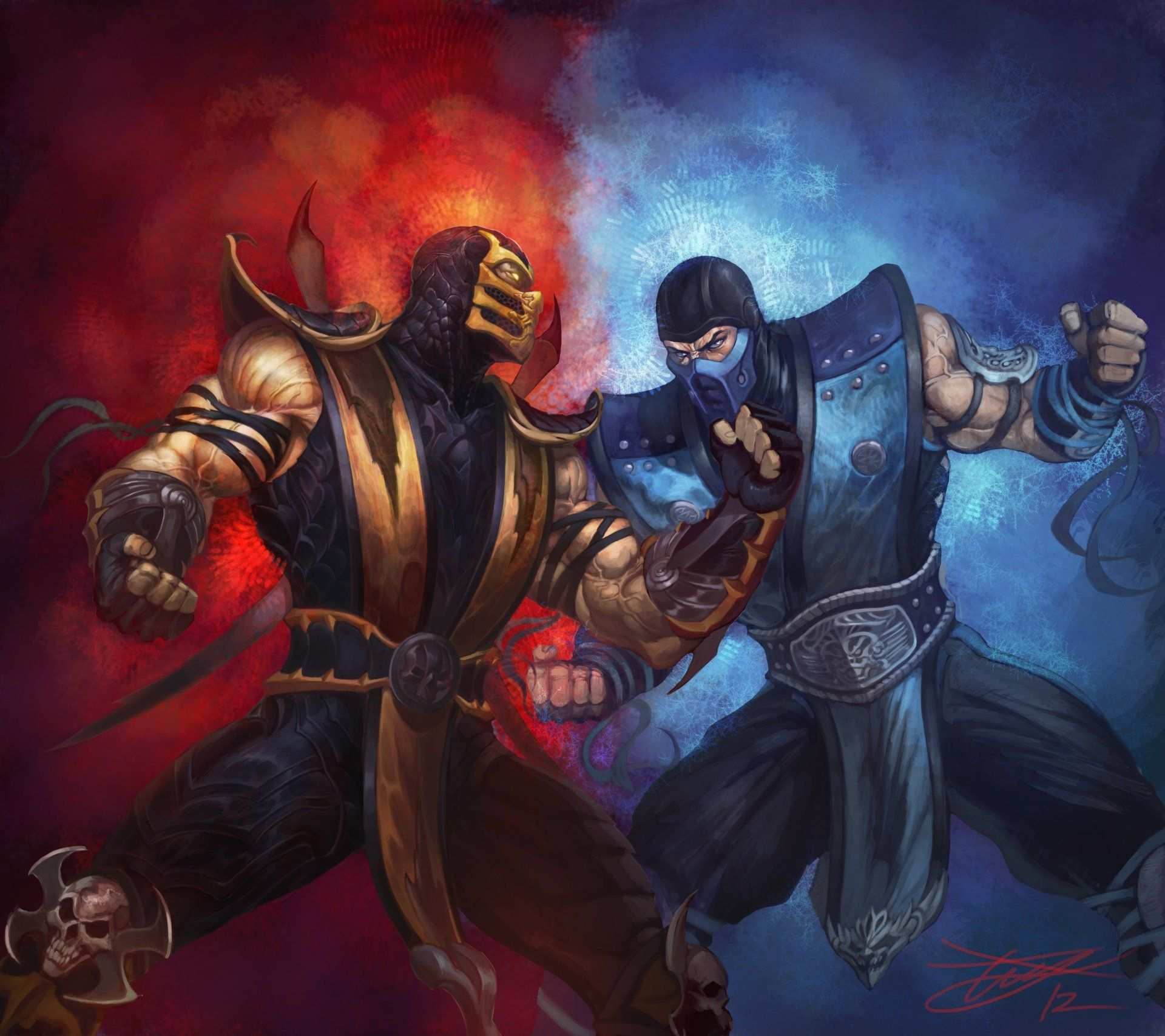 Warriors Fire And Ice Download: Top Free Fire Ninja Backgrounds
