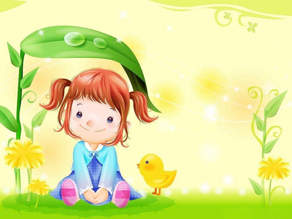 Cute Cartoon Girl Wallpapers Top Free Cute Cartoon Girl