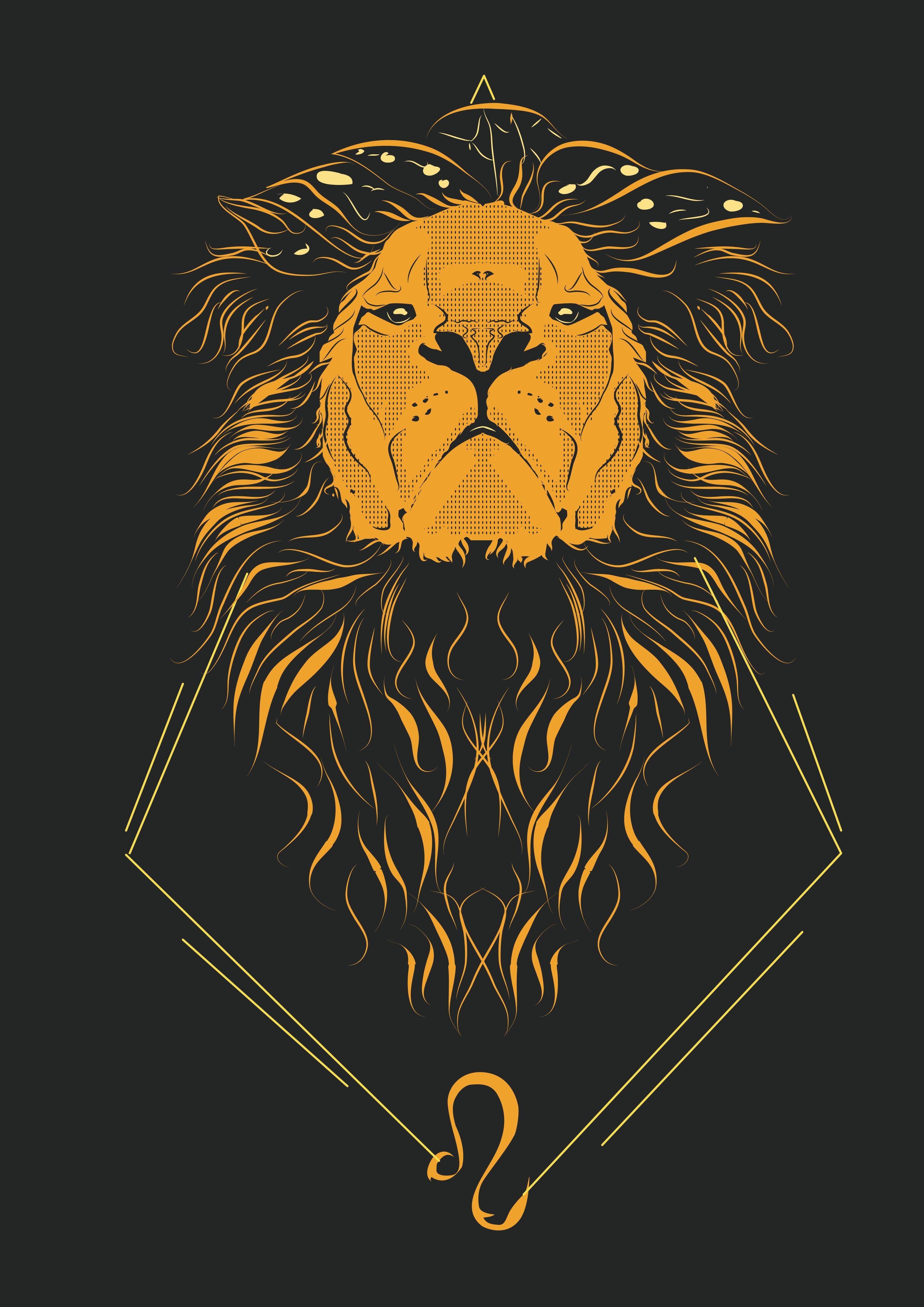 Iphone Leo Zodiac Wallpaper