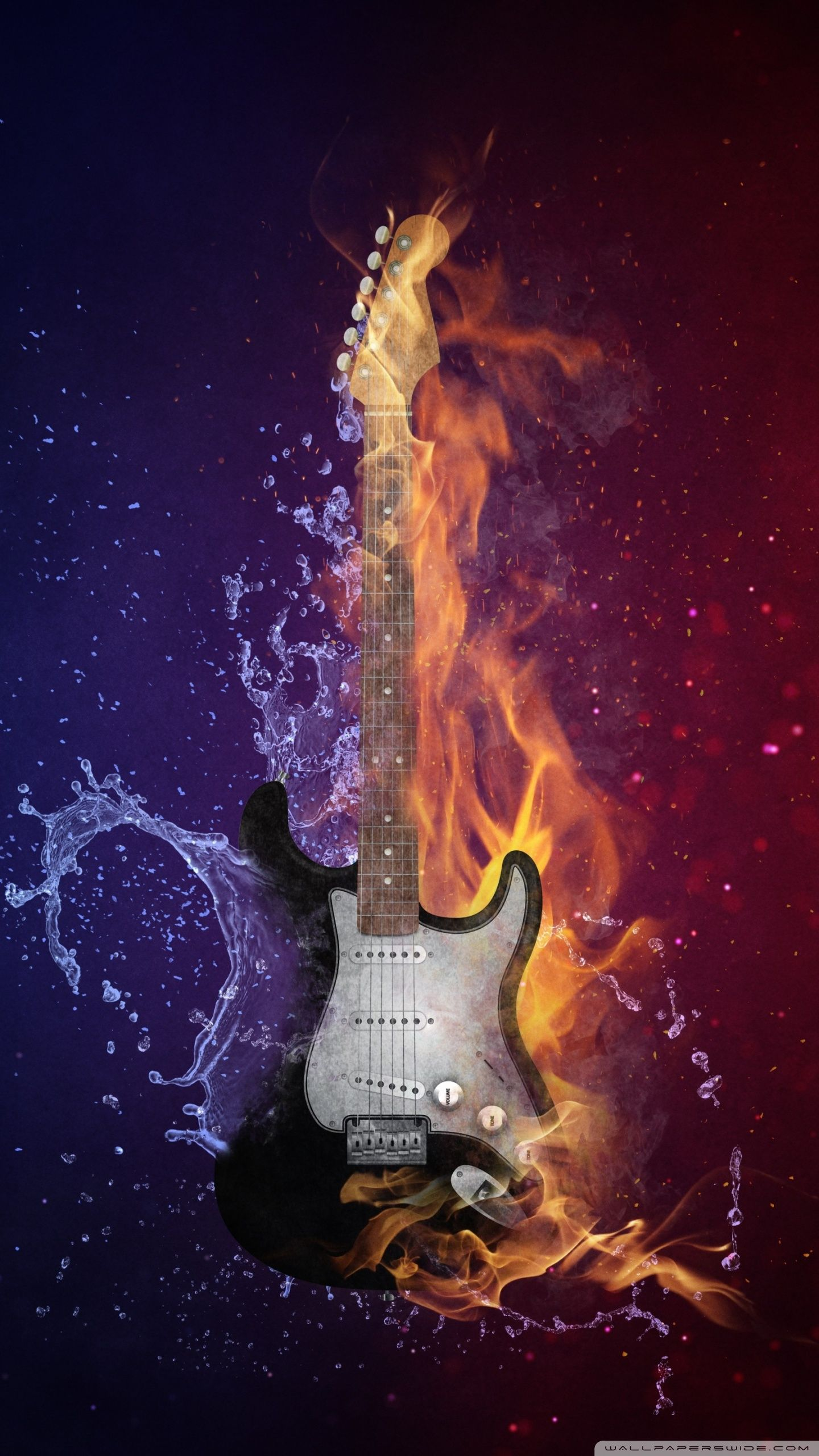 Home Screen Bass Guitar Wallpaper Hd Homelooker