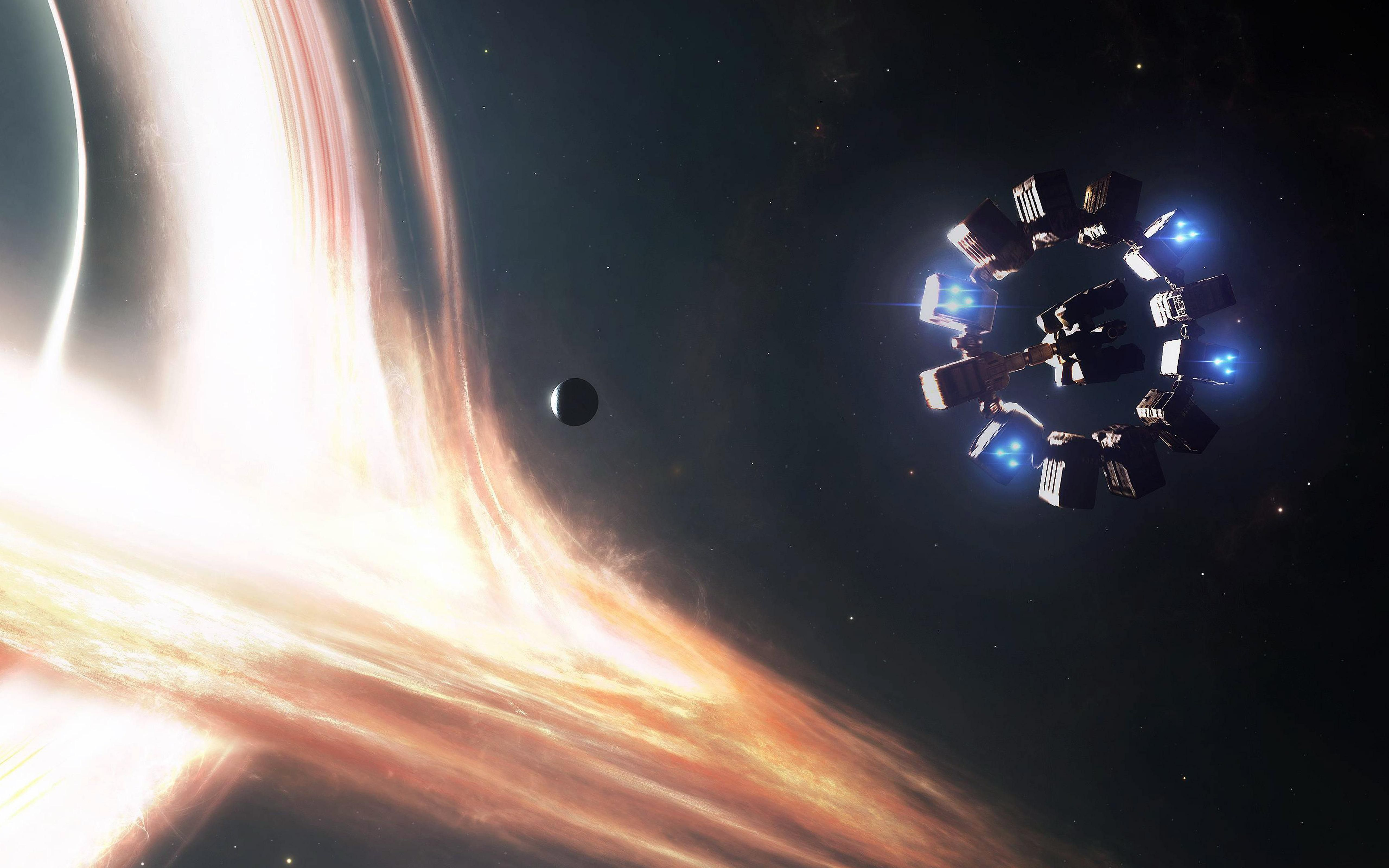 Interstellar Black Hole Wallpapers