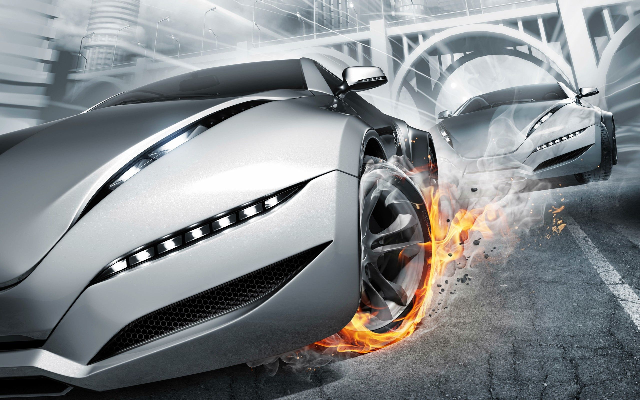 39 Best Free Abstract Full HD Car Wallpapers
