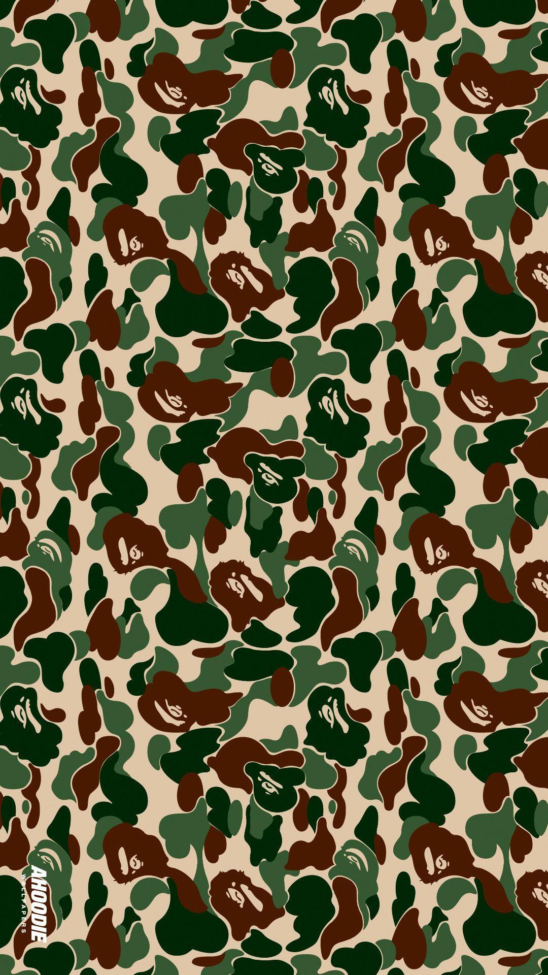 Bape Camo Wallpapers Top Free Bape Camo Backgrounds Wallpaperaccess