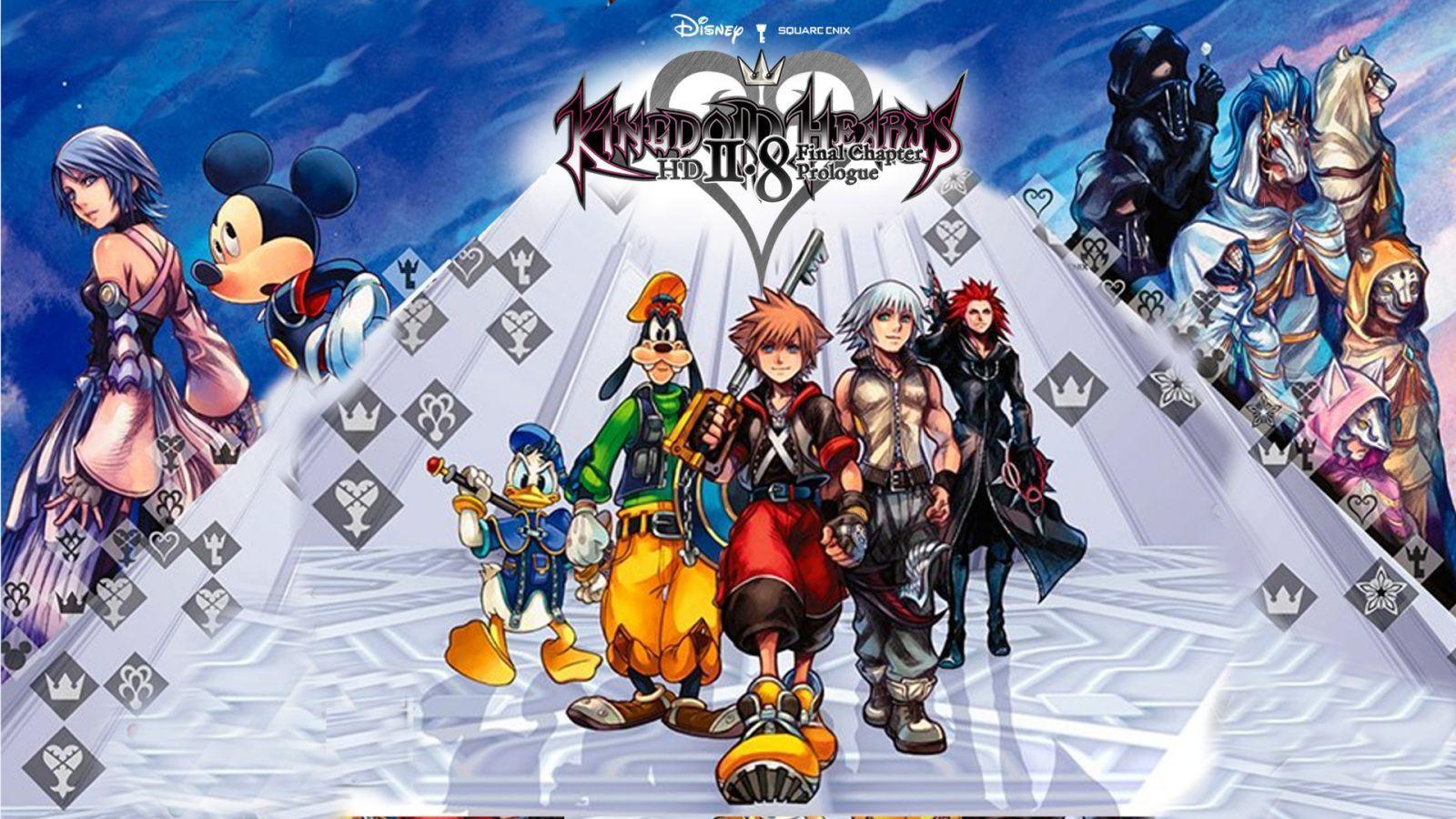 Kingdom Hearts 2 8 Wallpapers Top Free Kingdom Hearts 2 8