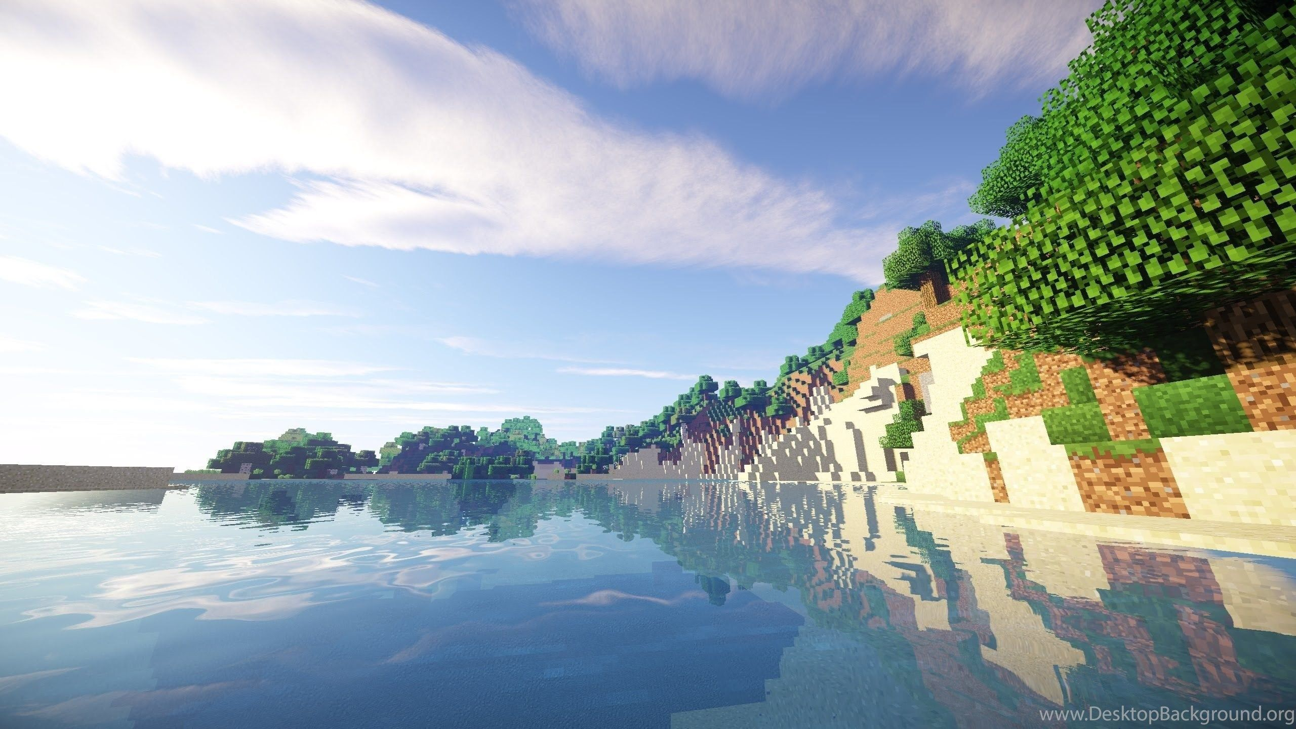 Minecraft Shaders Wallpapers Hd For Windows 10: Minecraft Shaders Wallpapers