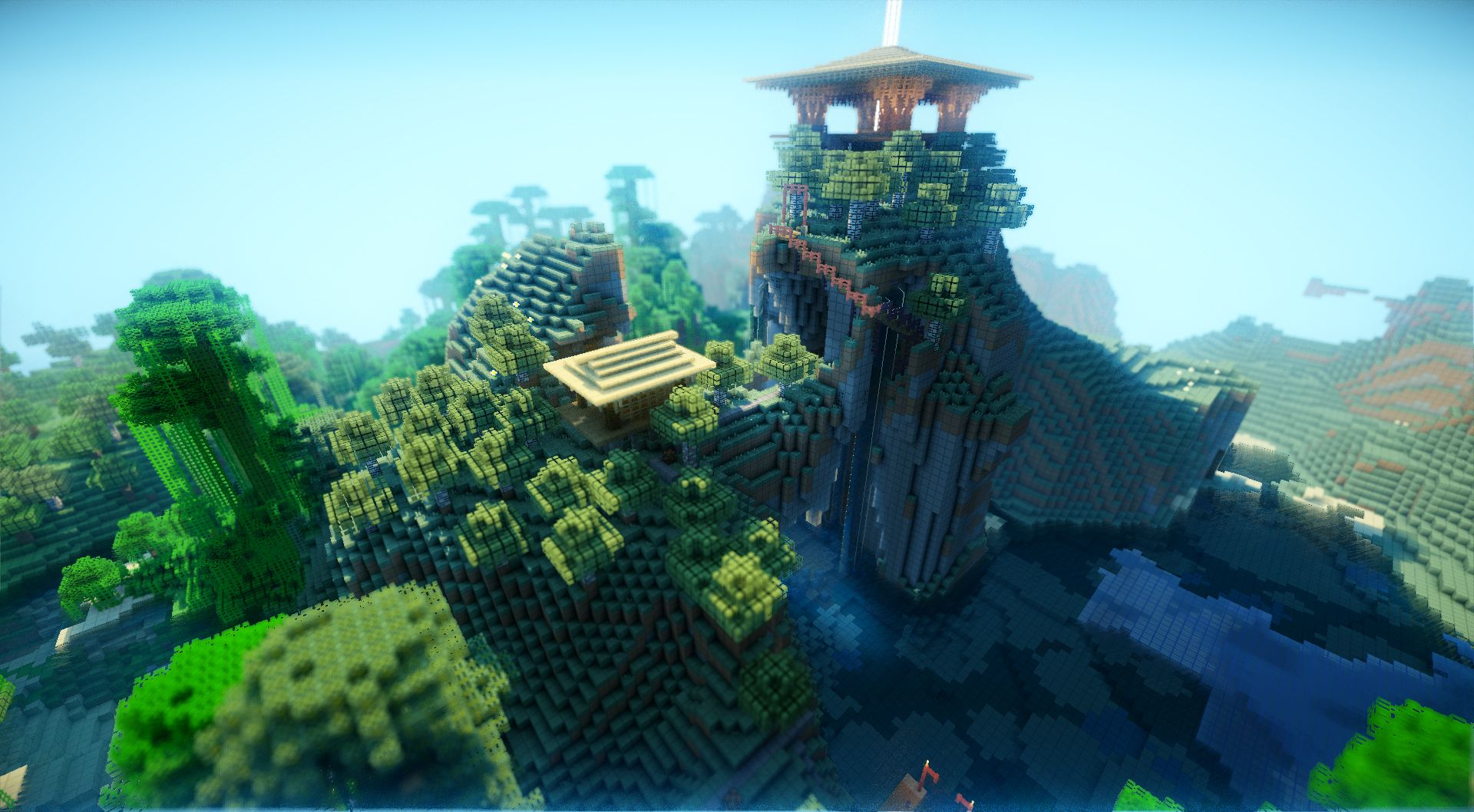 Minecraft Shaders Wallpapers Top Free Minecraft Shaders