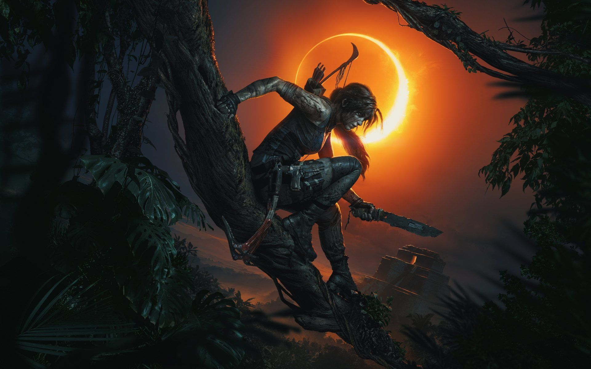 Shadow Of The Tomb Raider Wallpapers - Top Free Shadow Of The Tomb Raider  Backgrounds - WallpaperAccess