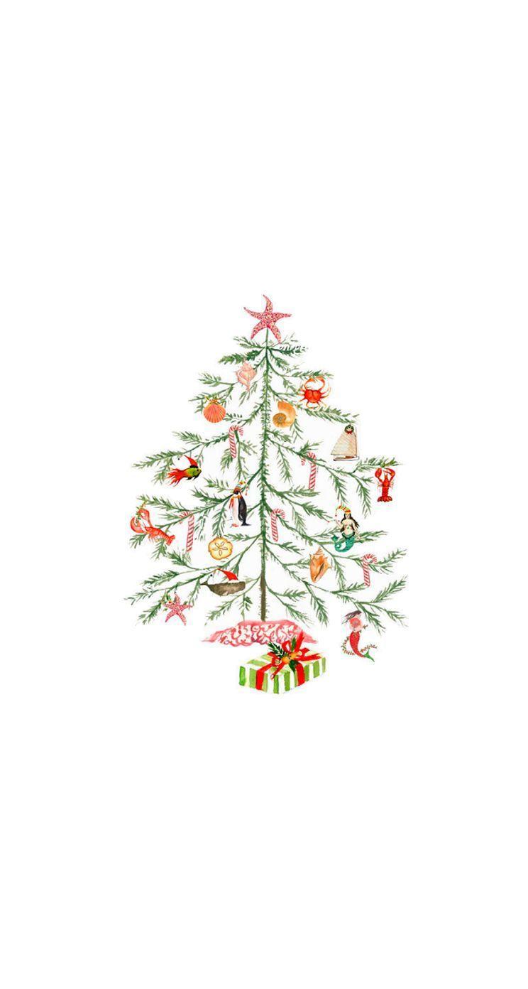 Christmas Tree Aesthetic Wallpaper Cartoon Novocom Top