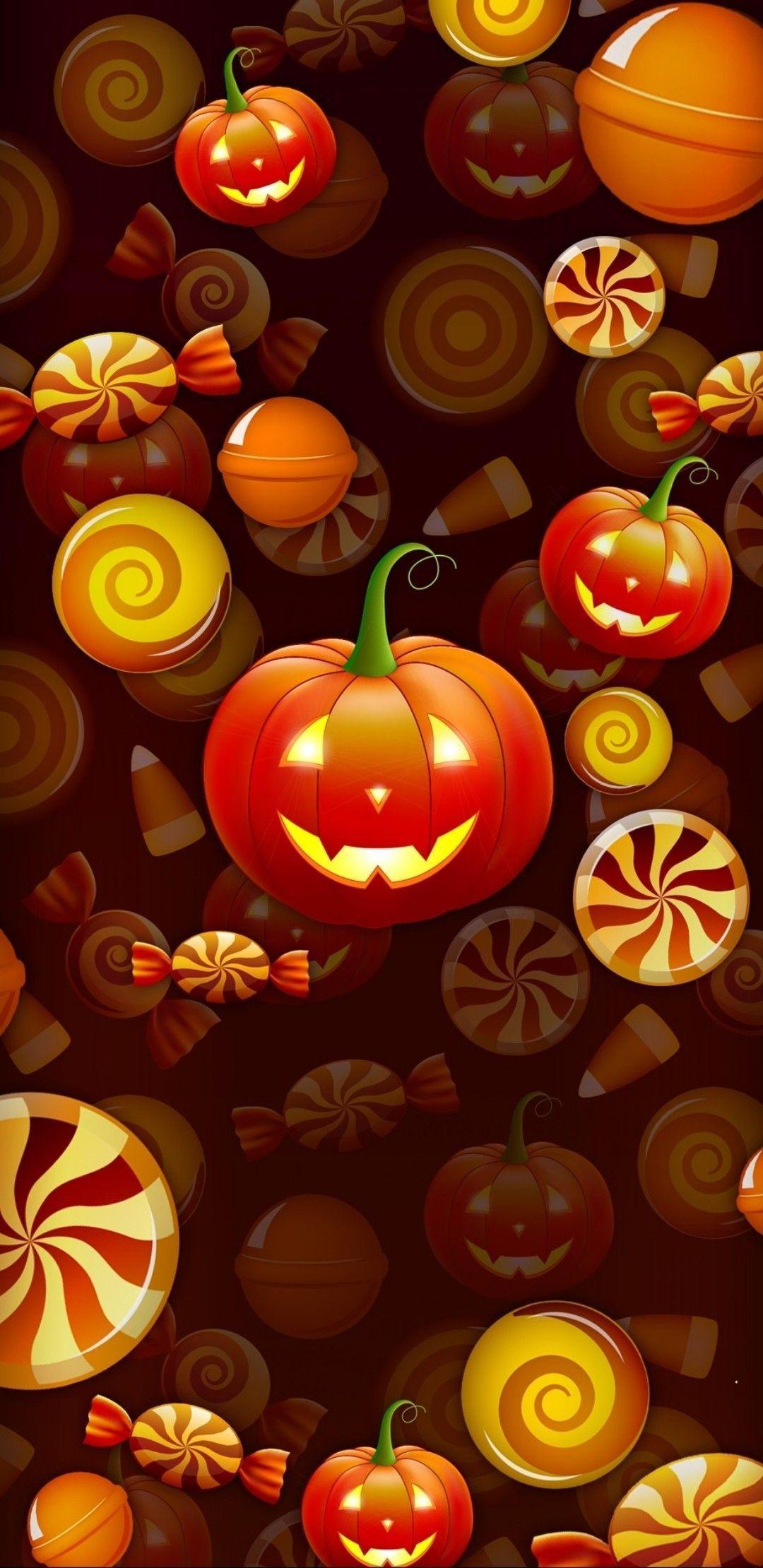 Fall Halloween Iphone Wallpapers Top Free Fall Halloween Iphone