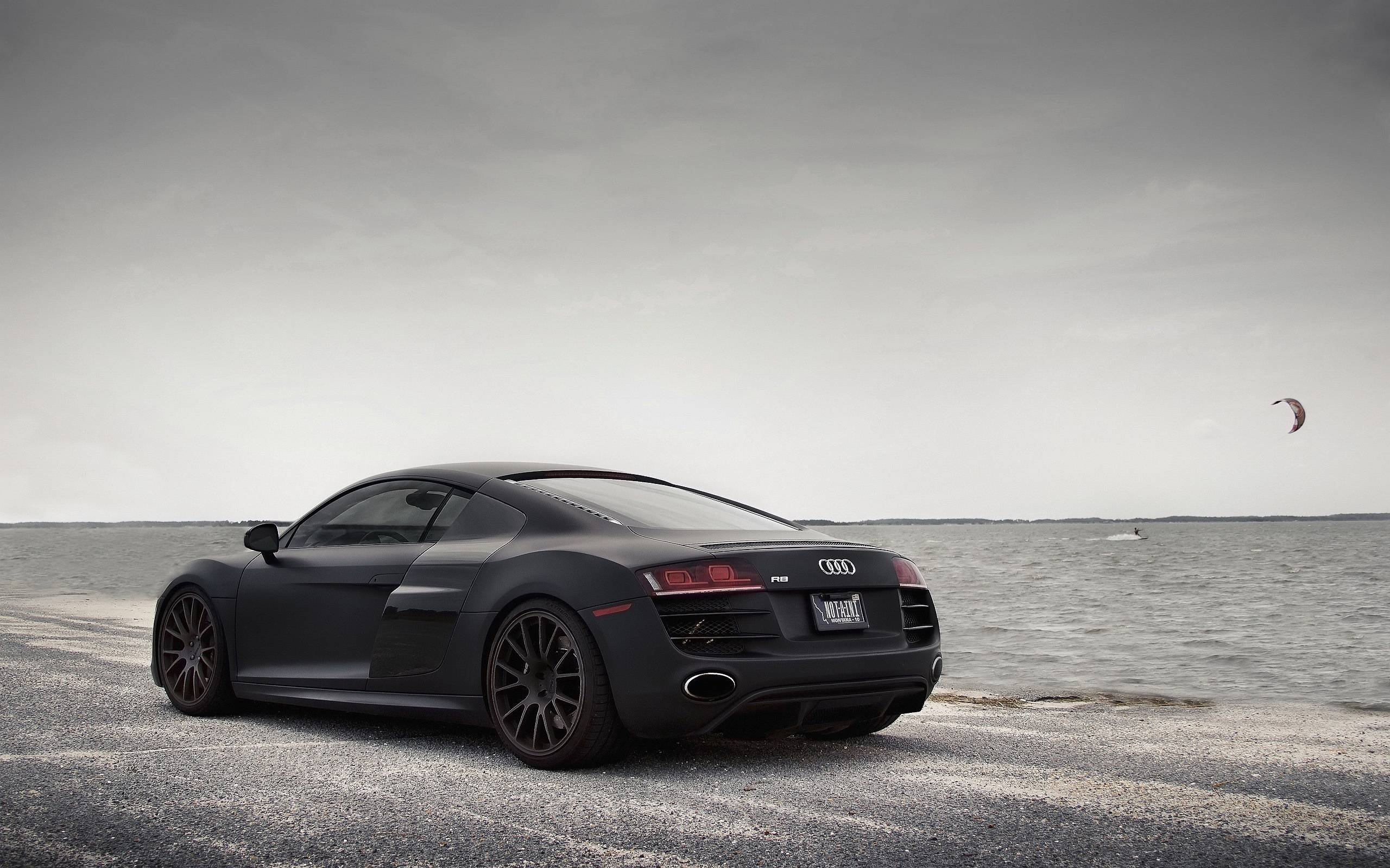 Audi R8 Black Wallpapers Top Free Audi R8 Black Backgrounds Wallpaperaccess