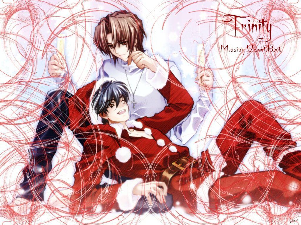 Anime Christmas Wallpaper.Male Anime Christmas Wallpapers Top Free Male Anime