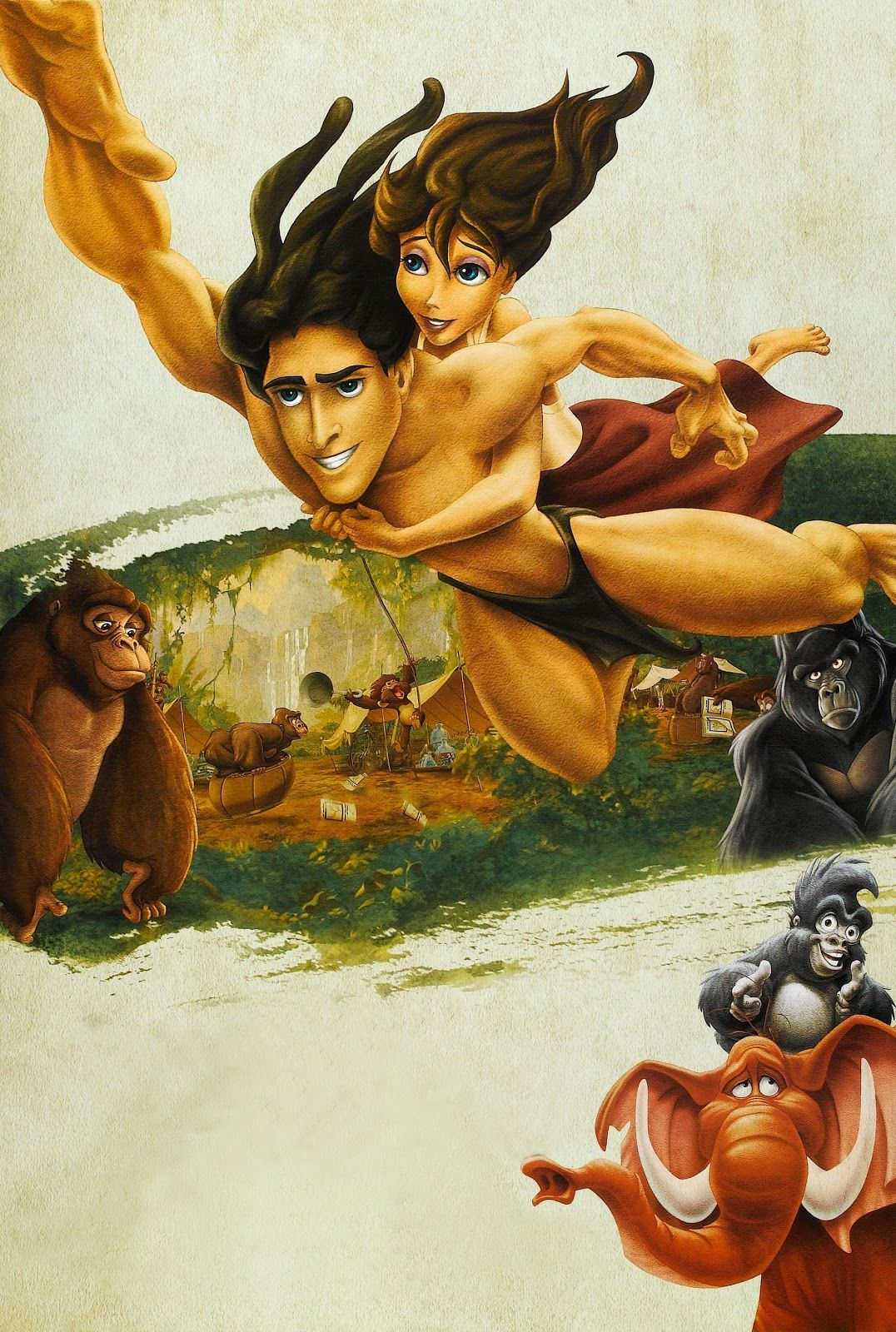 Tarzan wallpapers top free tarzan backgrounds - Tarzan wallpaper ...