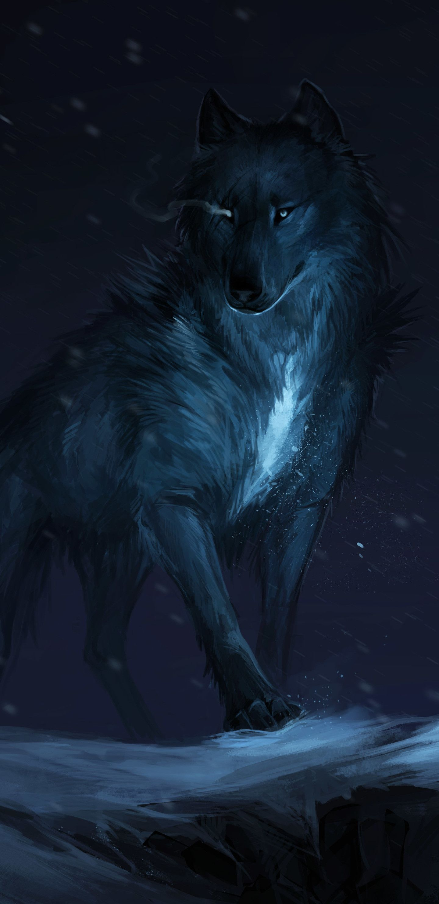 Mystical Wolf Wallpapers Top Free Mystical Wolf Backgrounds Wallpaperaccess