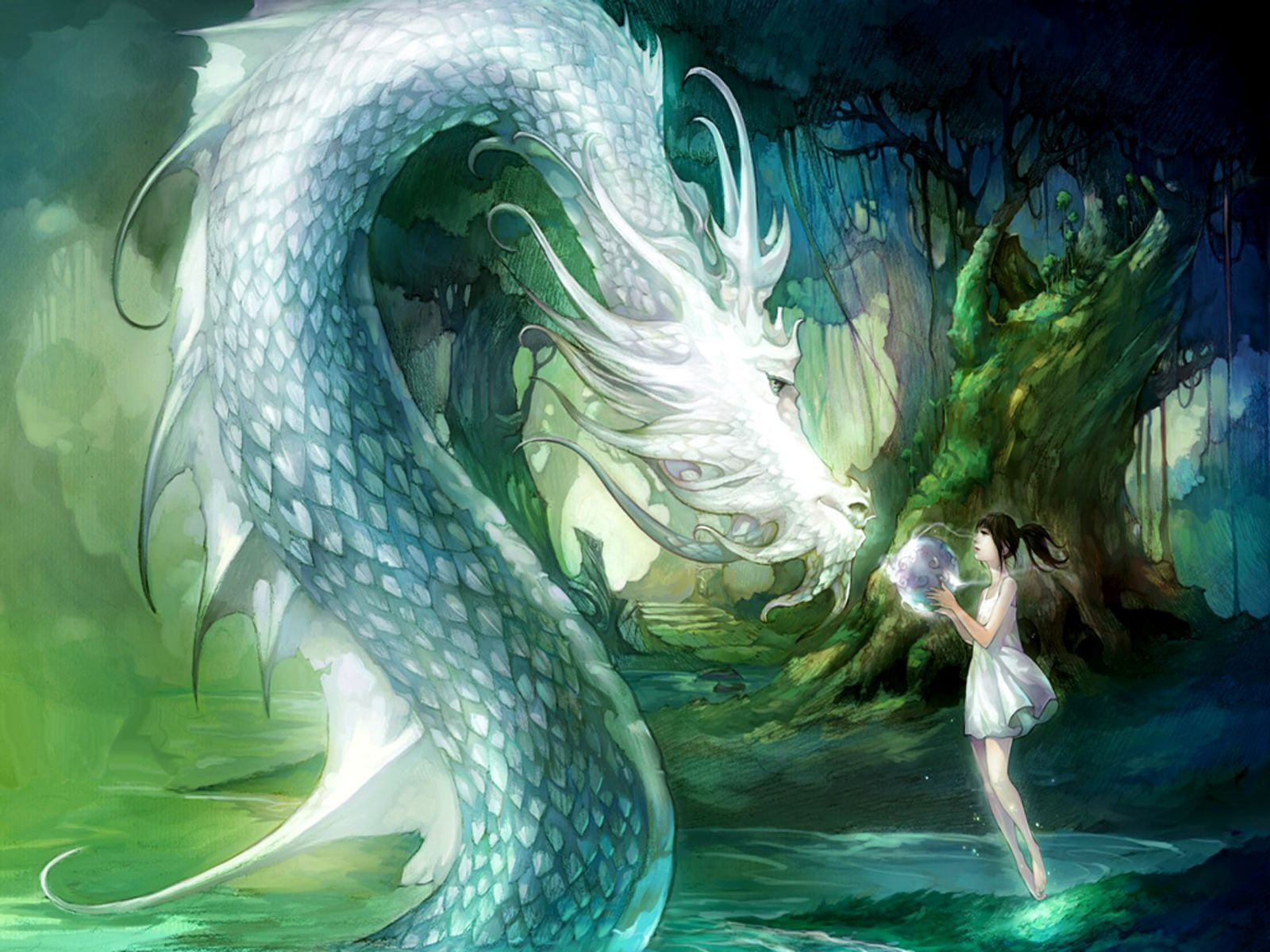 Anime Water Dragon Wallpapers - Top Free Anime Water Dragon