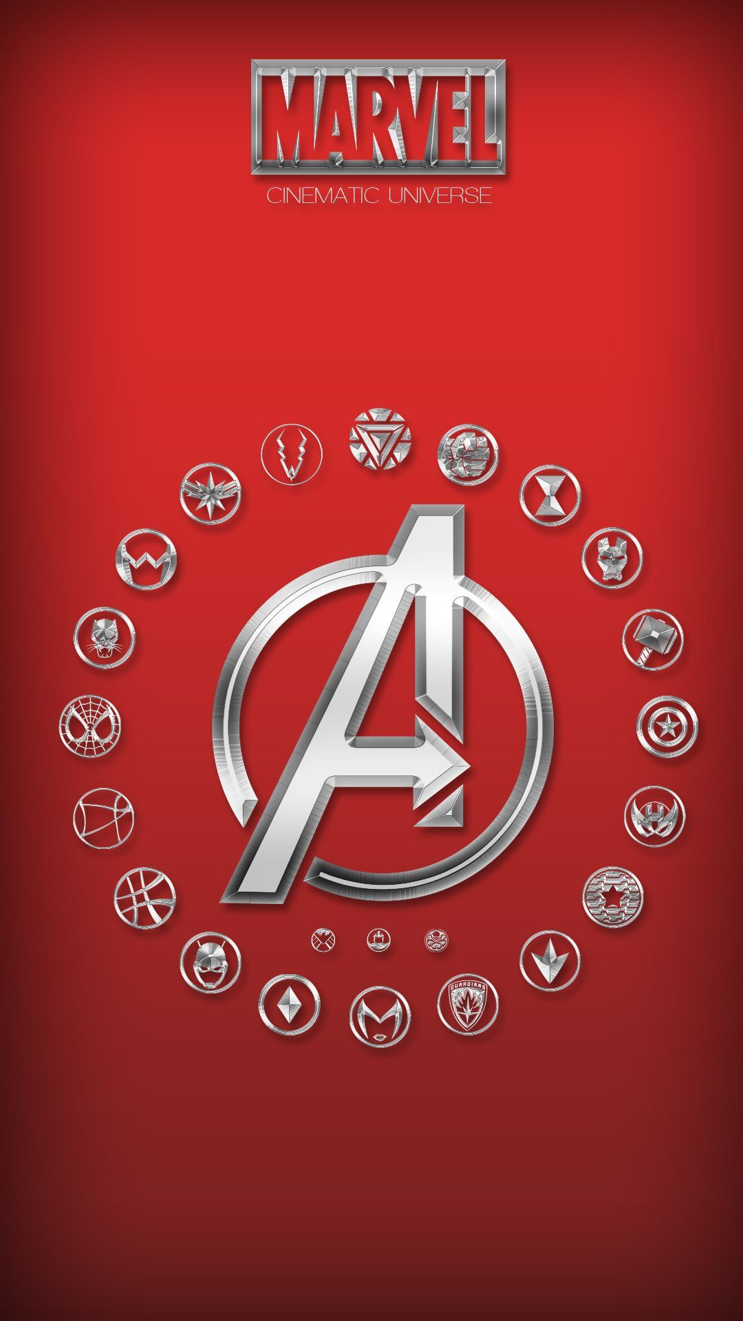 """1242x2208 Avengers Logo Marvel Wallpaper for iPhone X, 8, 7, 6 - Free Download ..."""">"""