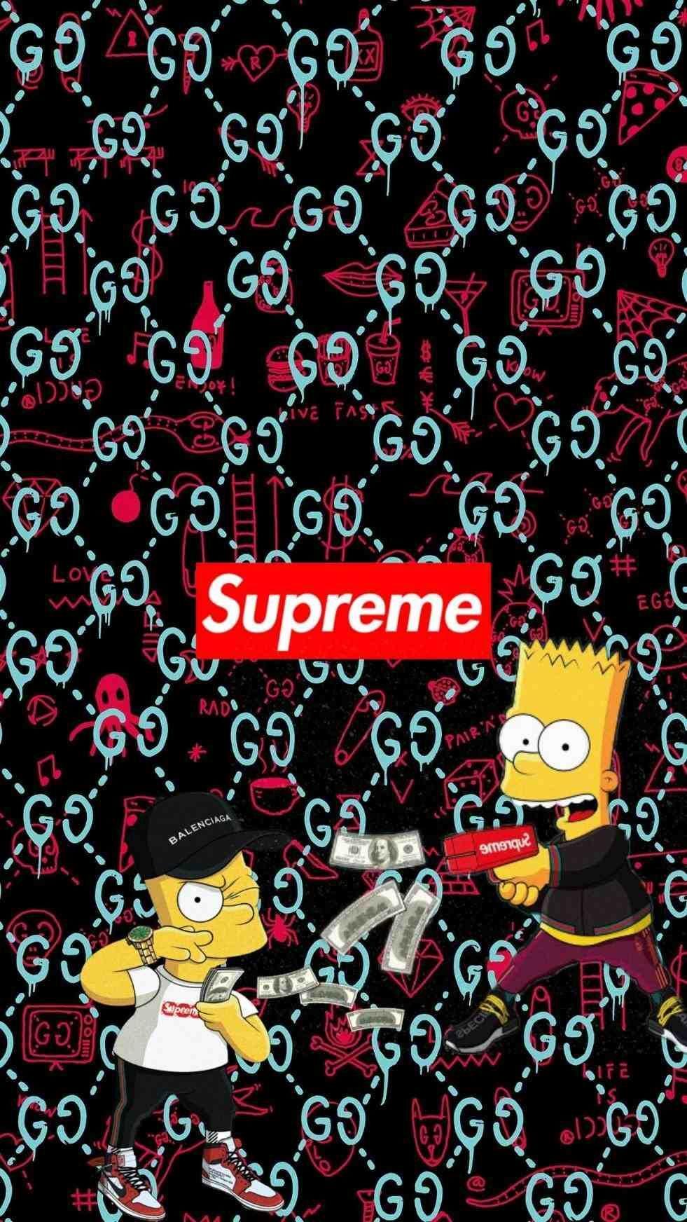 Simpsons Bape Wallpapers Top Free Simpsons Bape Backgrounds