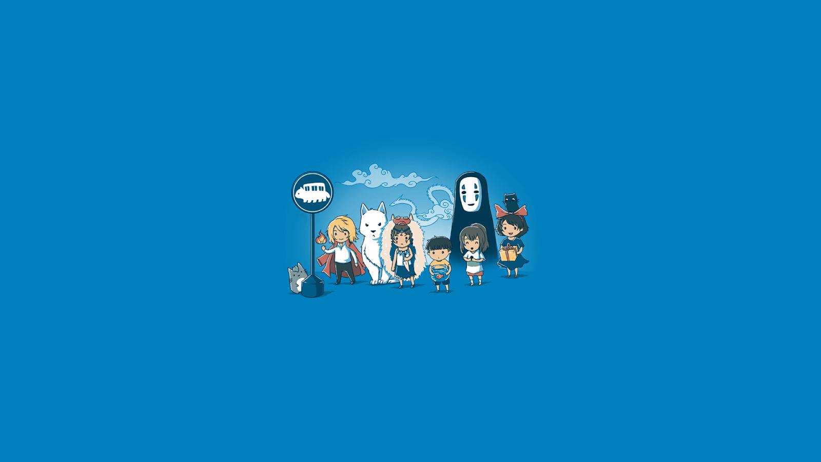 Minimalist Studio Ghibli Wallpapers Top Free Minimalist Studio Ghibli Backgrounds Wallpaperaccess