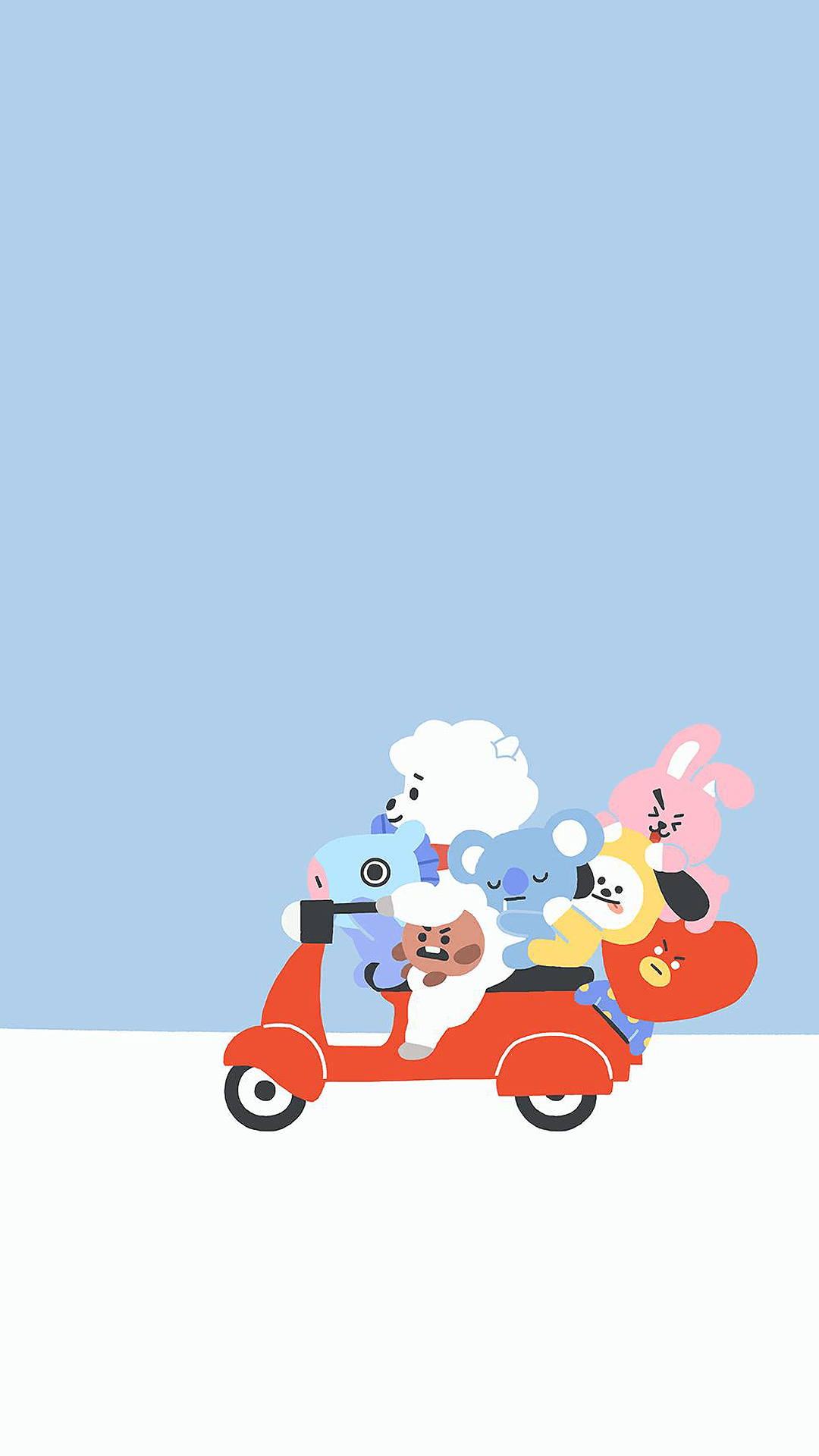 Line Friends Wallpapers Top Free Line Friends Backgrounds