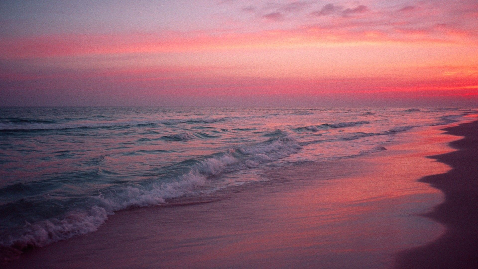 Pink Beach Wallpapers Top Free Pink Beach Backgrounds Wallpaperaccess
