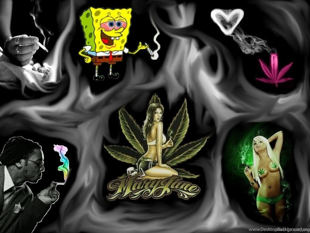 Funny Weed Backgrounds Www Picturesboss Com