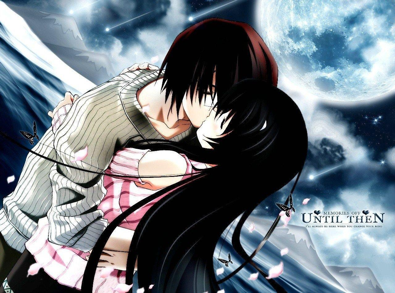 Romantic Anime Kiss Wallpapers Top Free Romantic Anime