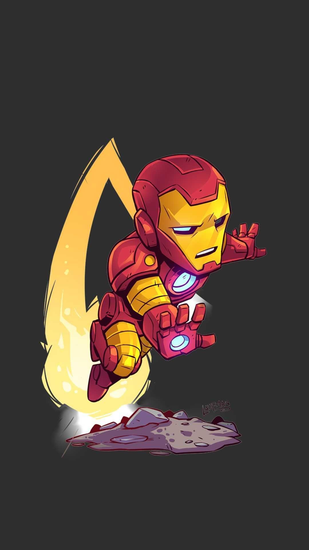 Iron Man Cartoon Wallpapers Top Free Iron Man Cartoon Backgrounds Wallpaperaccess