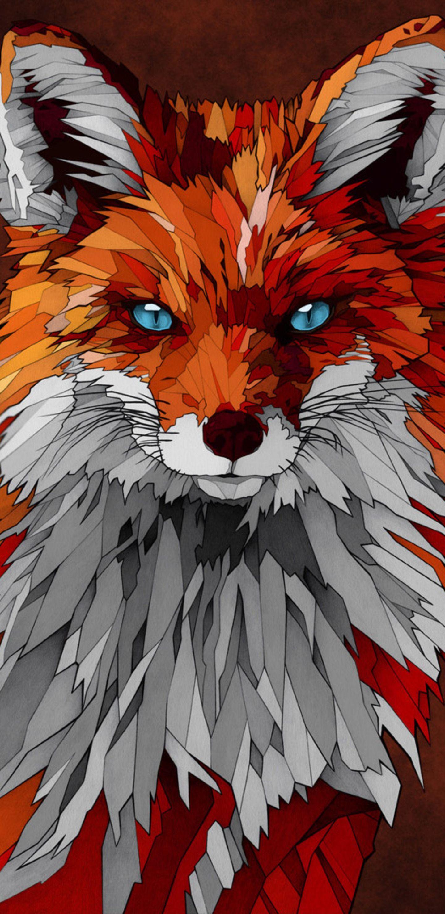 Fox Art Wallpapers Top Free Fox Art Backgrounds