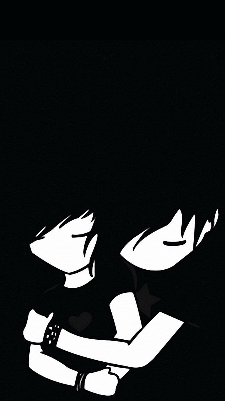 Black Cartoon Iphone Wallpapers Top Free Black Cartoon Iphone
