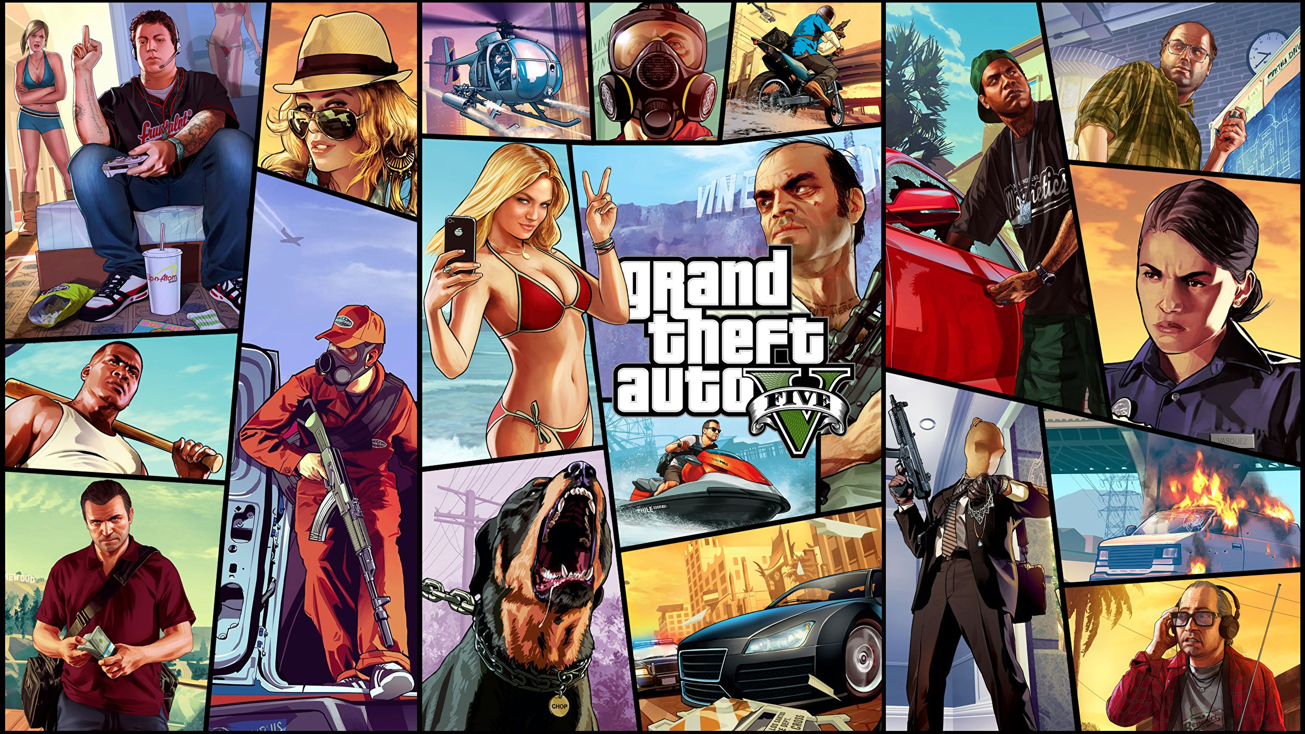 GTA 5 2560X1440 Wallpapers - Top Free GTA 5 2560X1440