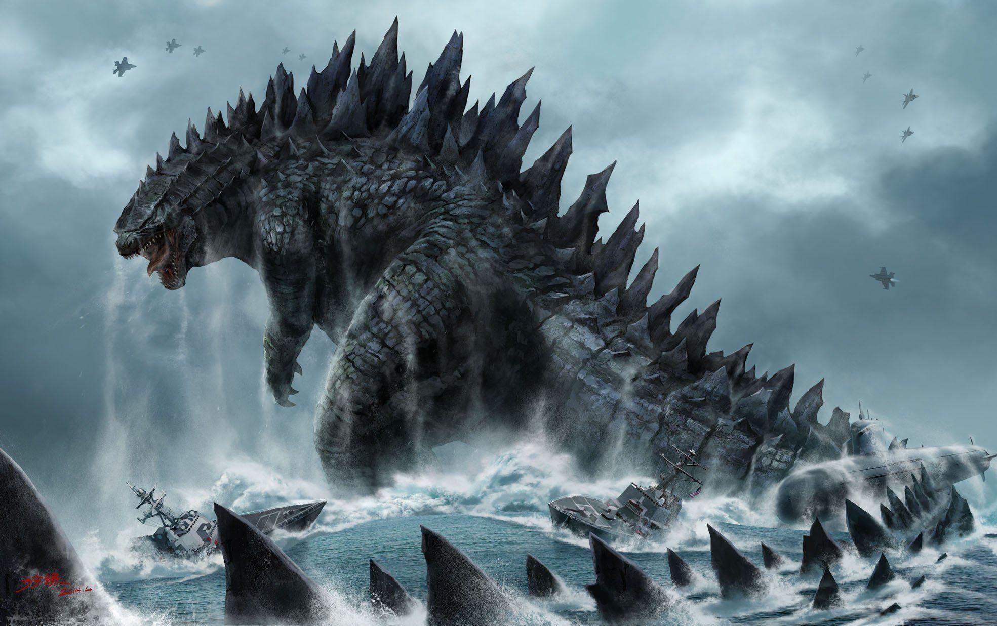 Godzilla Desktop Wallpapers   Top Free Godzilla Desktop ...