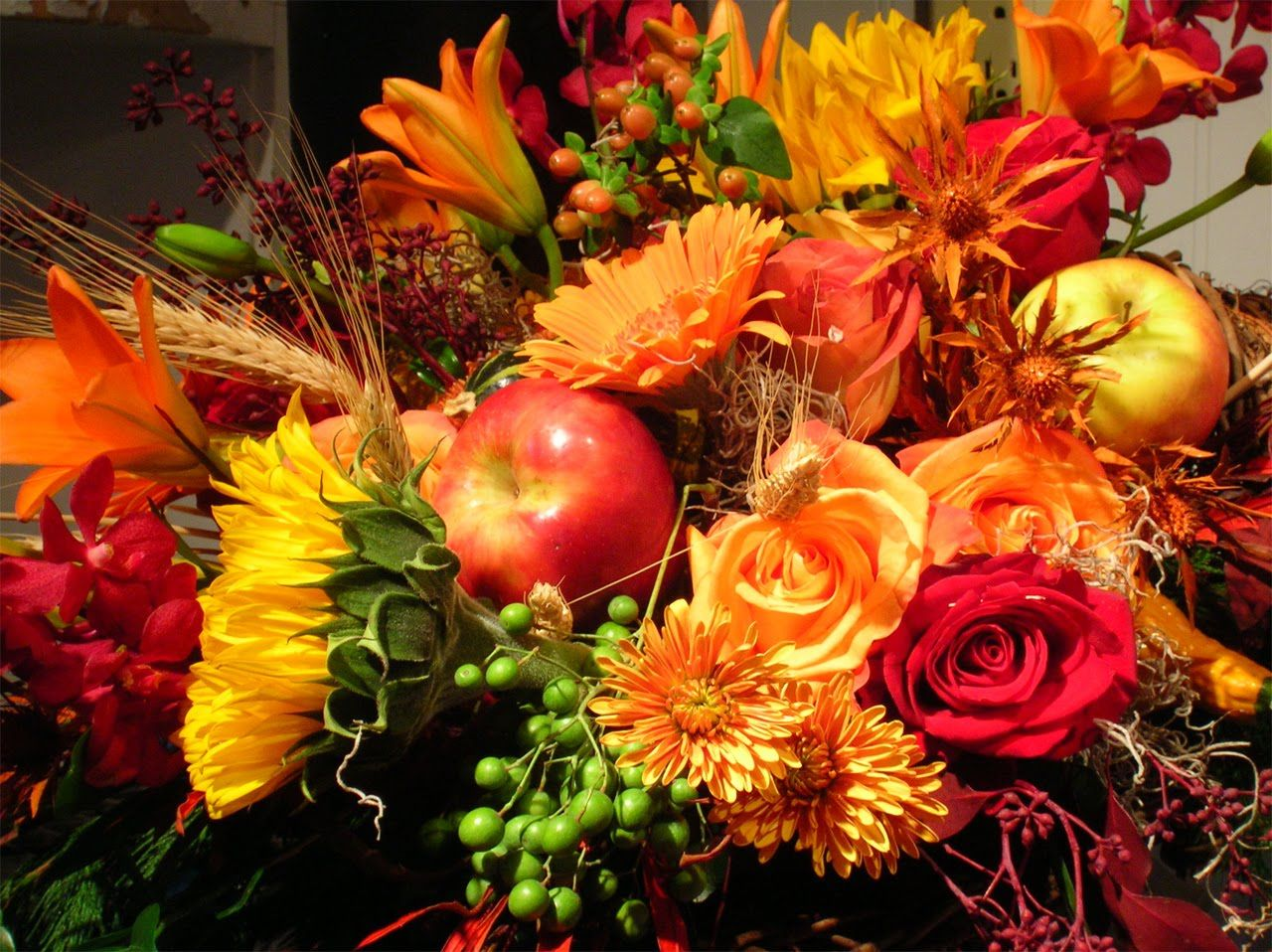 Thanksgiving Floral Wallpapers Top Free Thanksgiving Floral