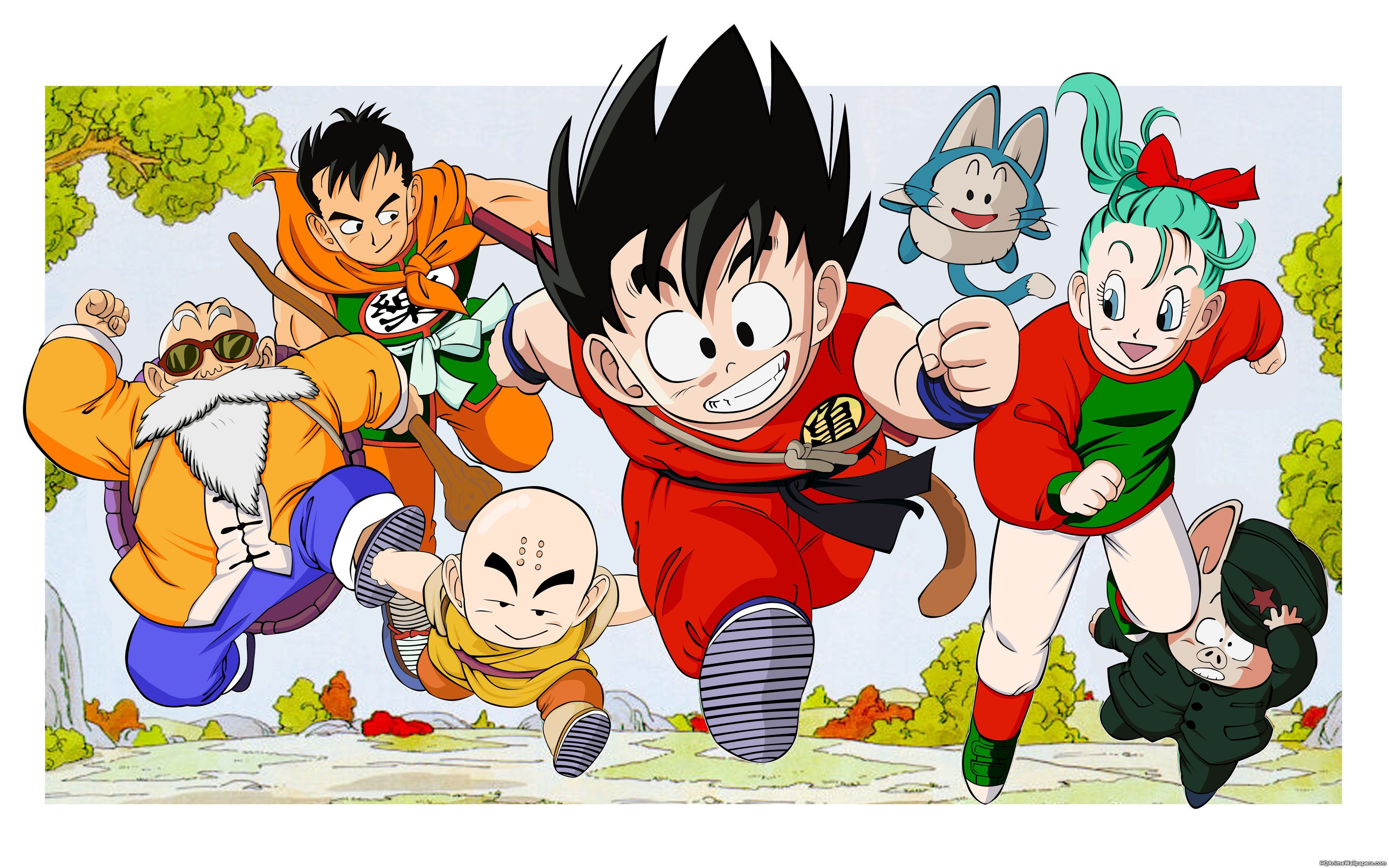 Original Dragon Ball Wallpapers Top Free Original Dragon Ball Backgrounds Wallpaperaccess